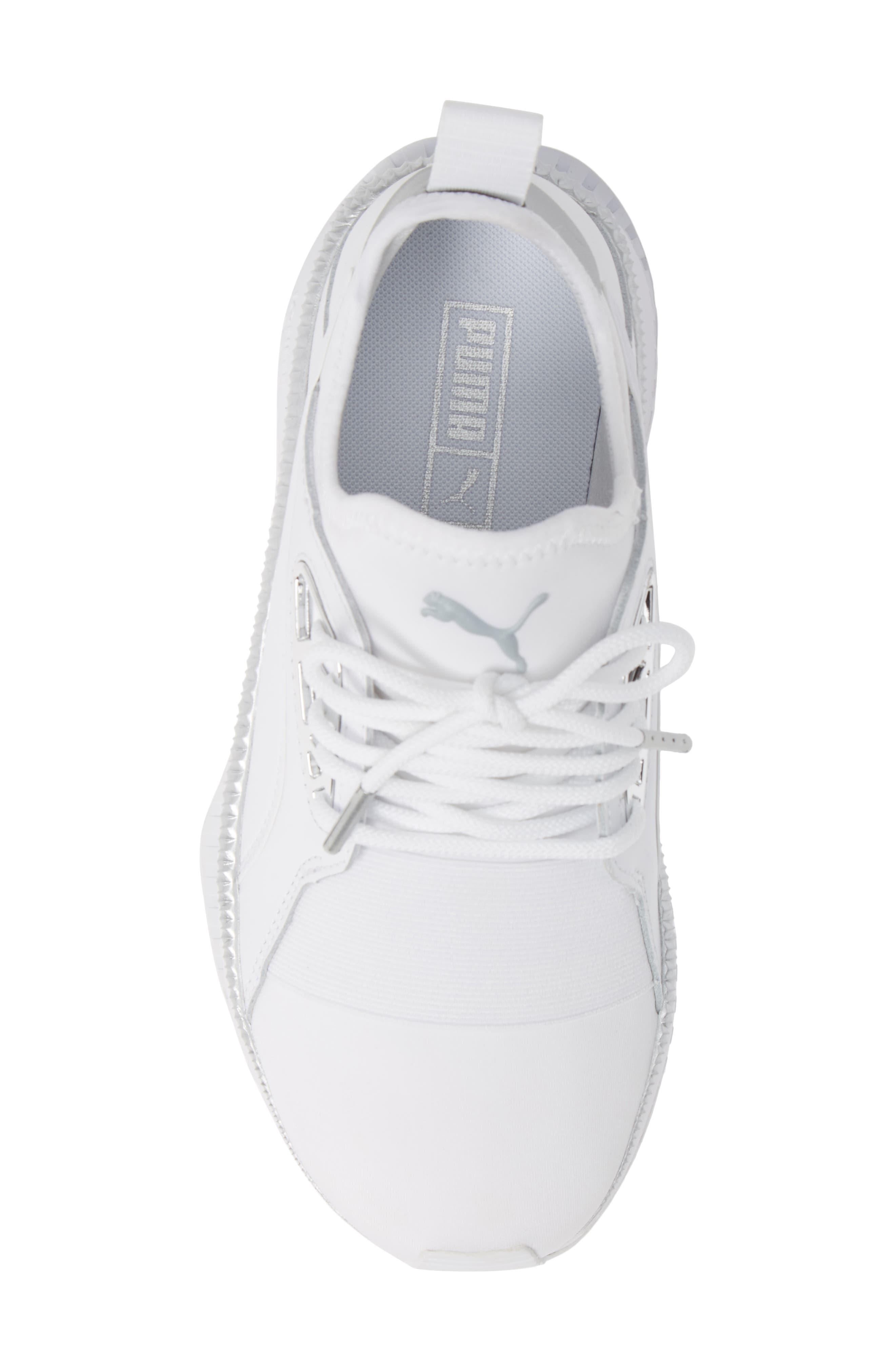 TSUGI Apex Jewel Sneaker,                             Alternate thumbnail 5, color,                             PUMA WHITE/ PUMA WHITE
