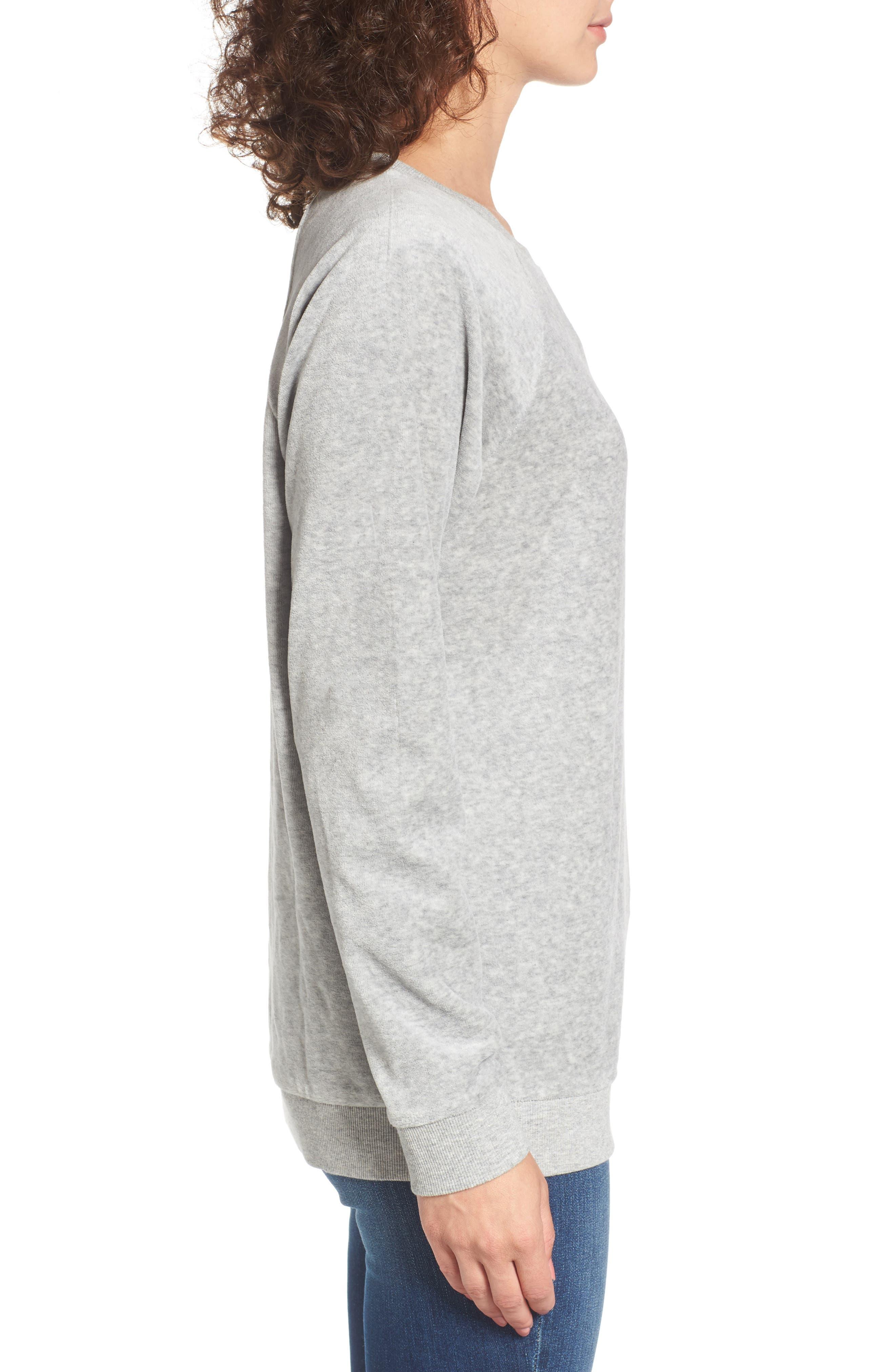 Gotta Crush Raglan Sweatshirt,                             Alternate thumbnail 3, color,                             035