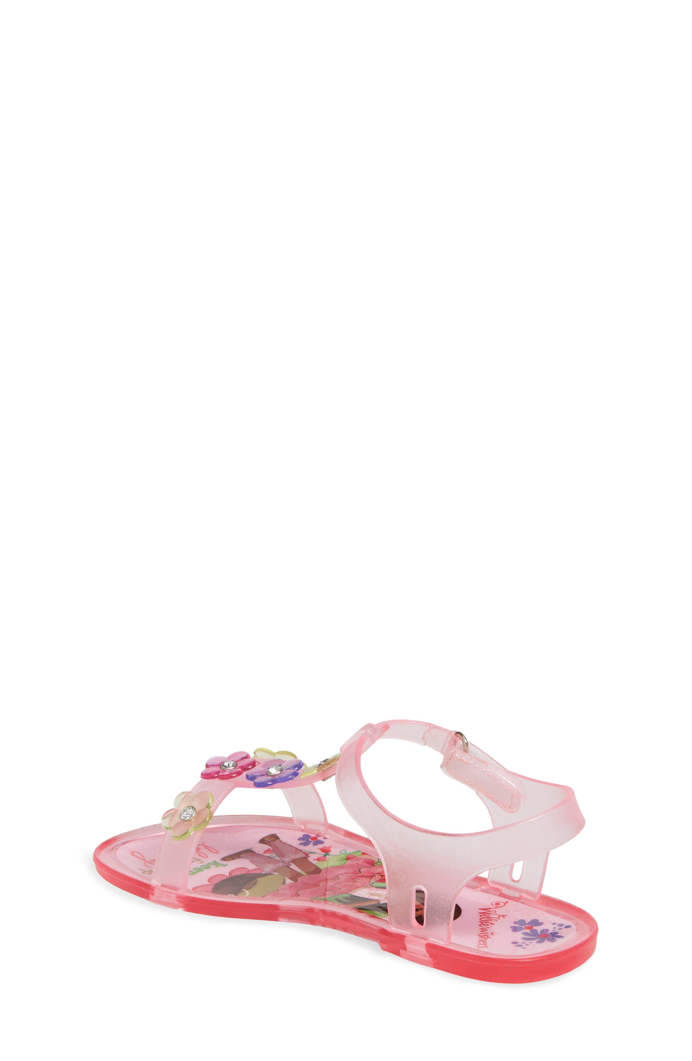 Ashlyn Flower Jelly Sandal,                             Alternate thumbnail 2, color,                             652