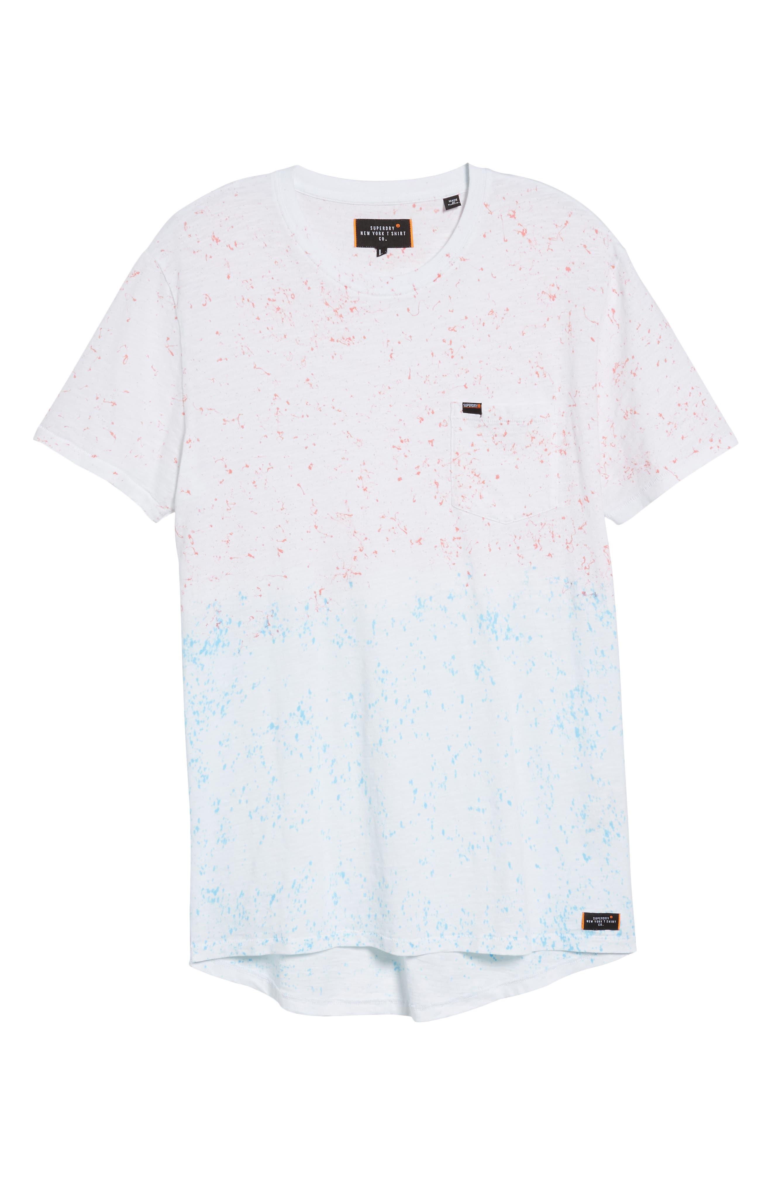 Tropics Longline T-Shirt,                             Alternate thumbnail 6, color,