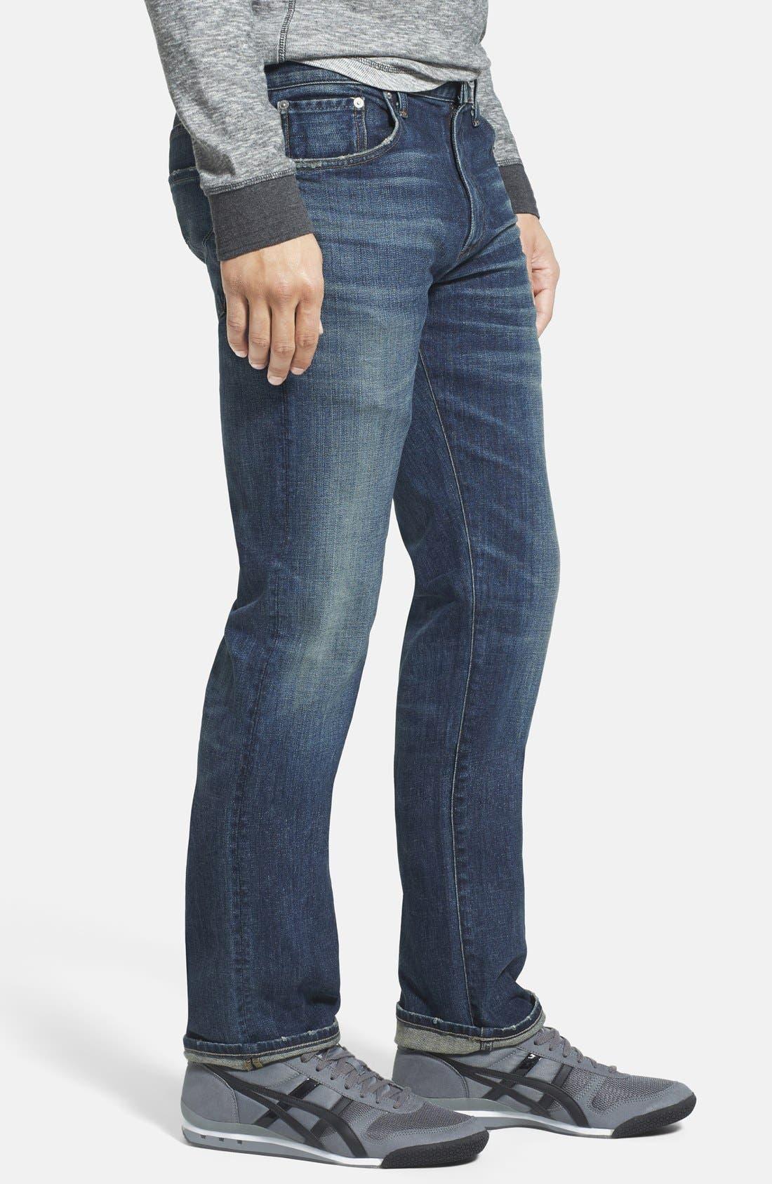 'Core' Slim Fit Jeans,                             Alternate thumbnail 2, color,                             MORRISON