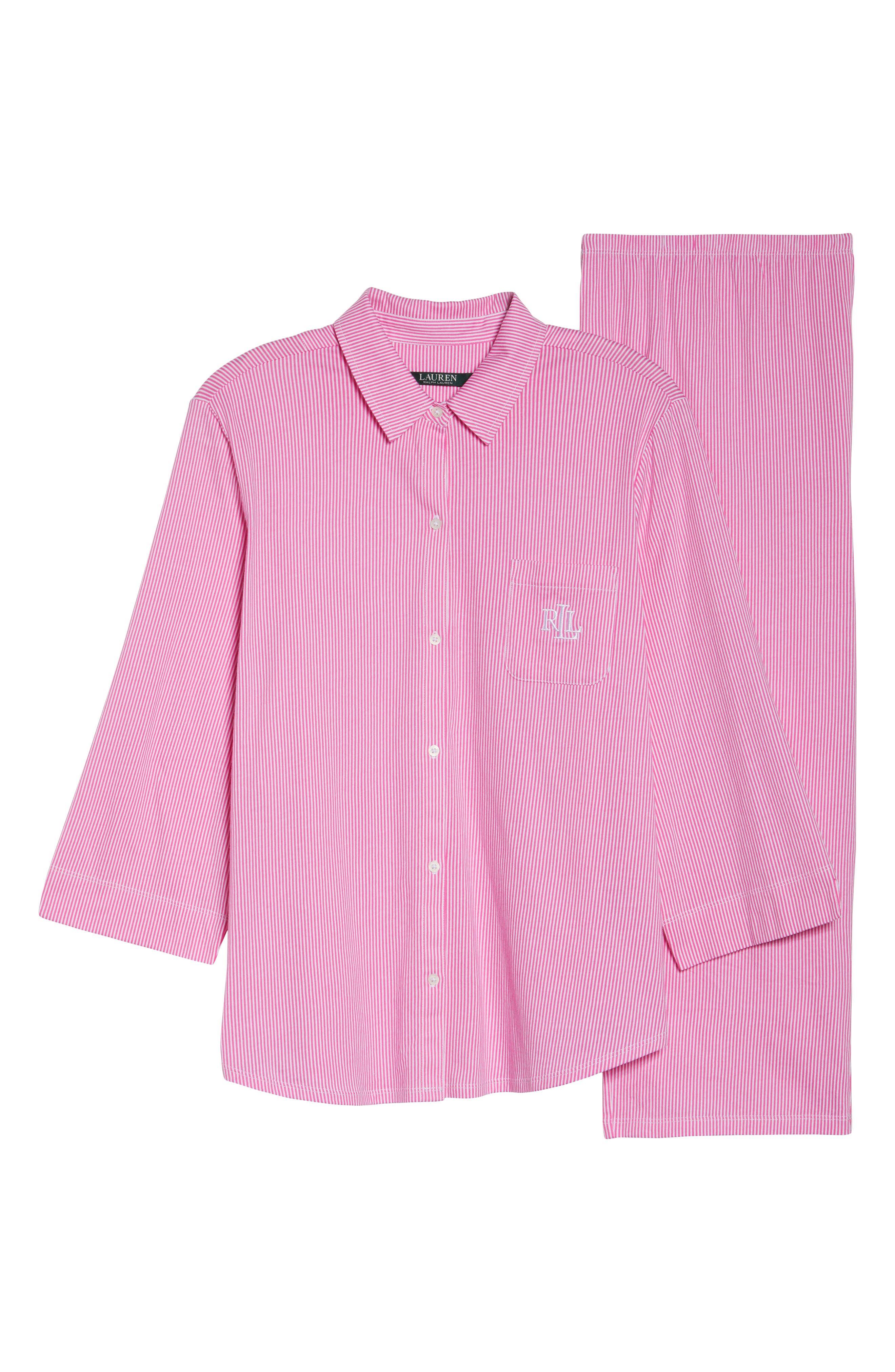 Crop Pajamas,                             Alternate thumbnail 6, color,