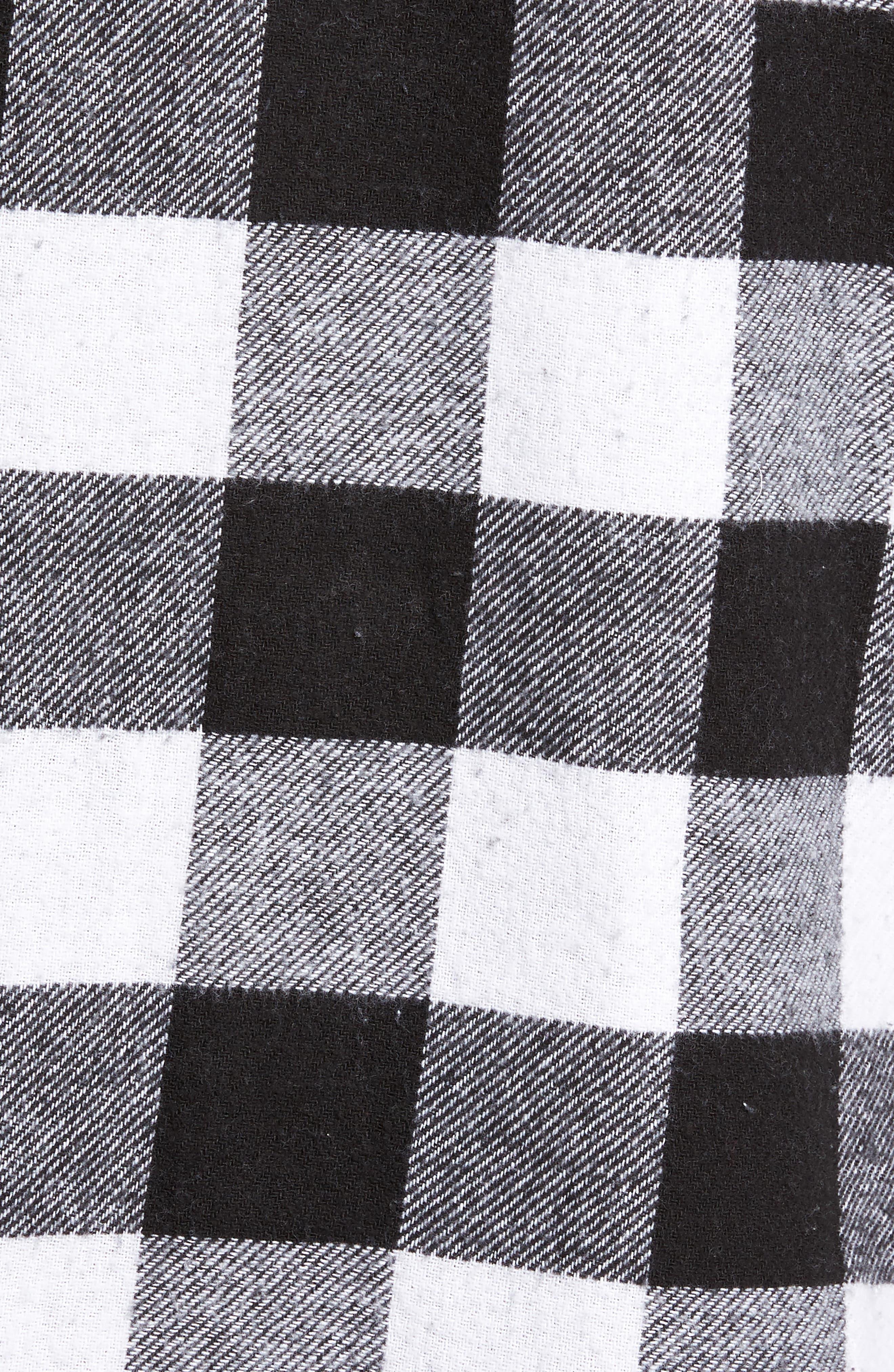 Trent Check Woven Shirt,                             Alternate thumbnail 5, color,                             002