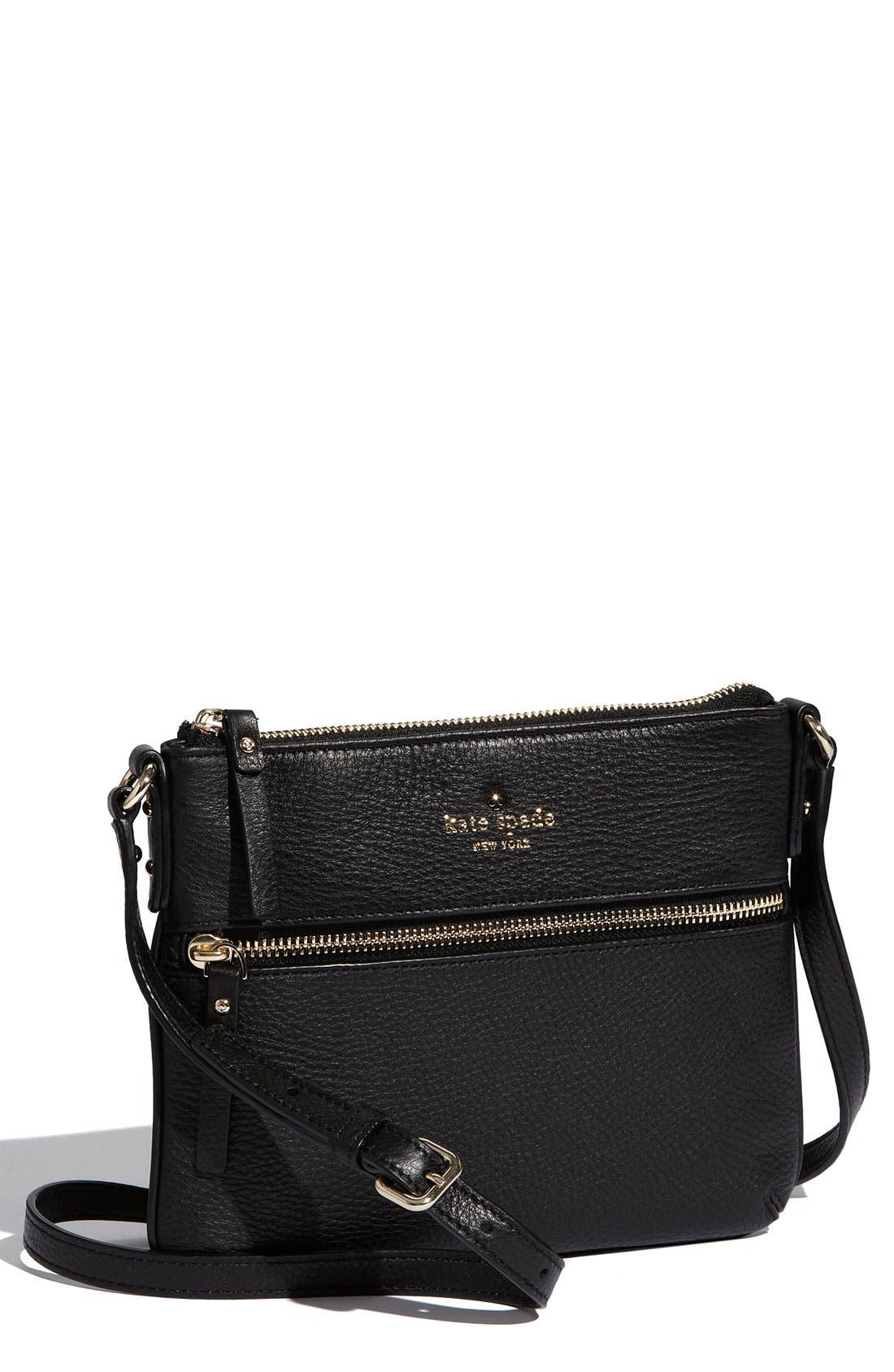 KATE SPADE NEW YORK 'cobble hill - tenley' crossbody bag, Main, color, 001