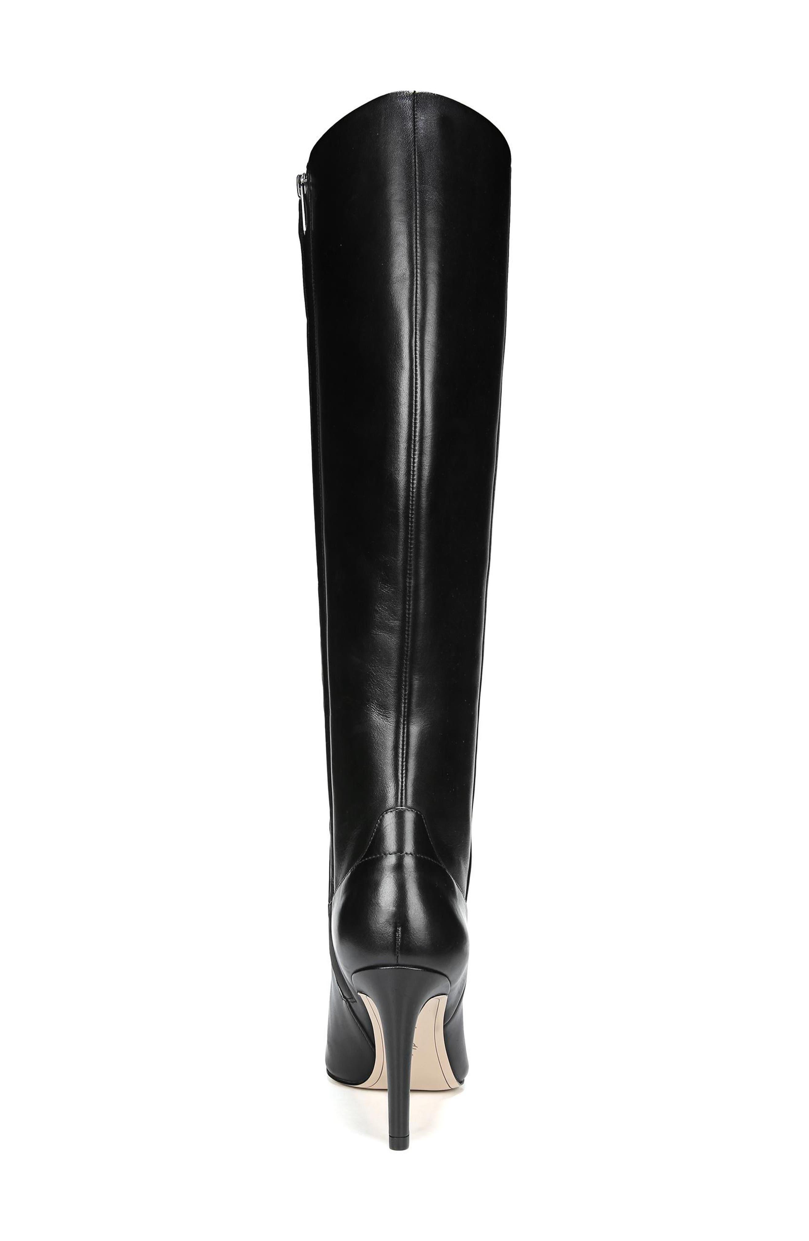 Olencia Knee High Boot,                             Alternate thumbnail 7, color,                             001