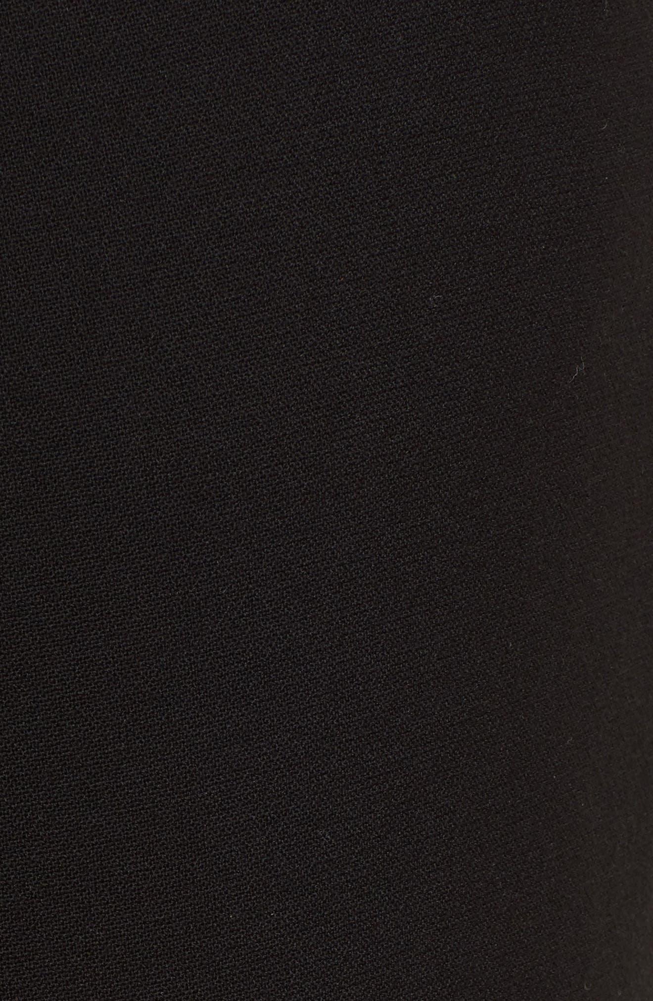 VERONICA BEARD,                             Jaina Pants,                             Alternate thumbnail 5, color,                             BLACK