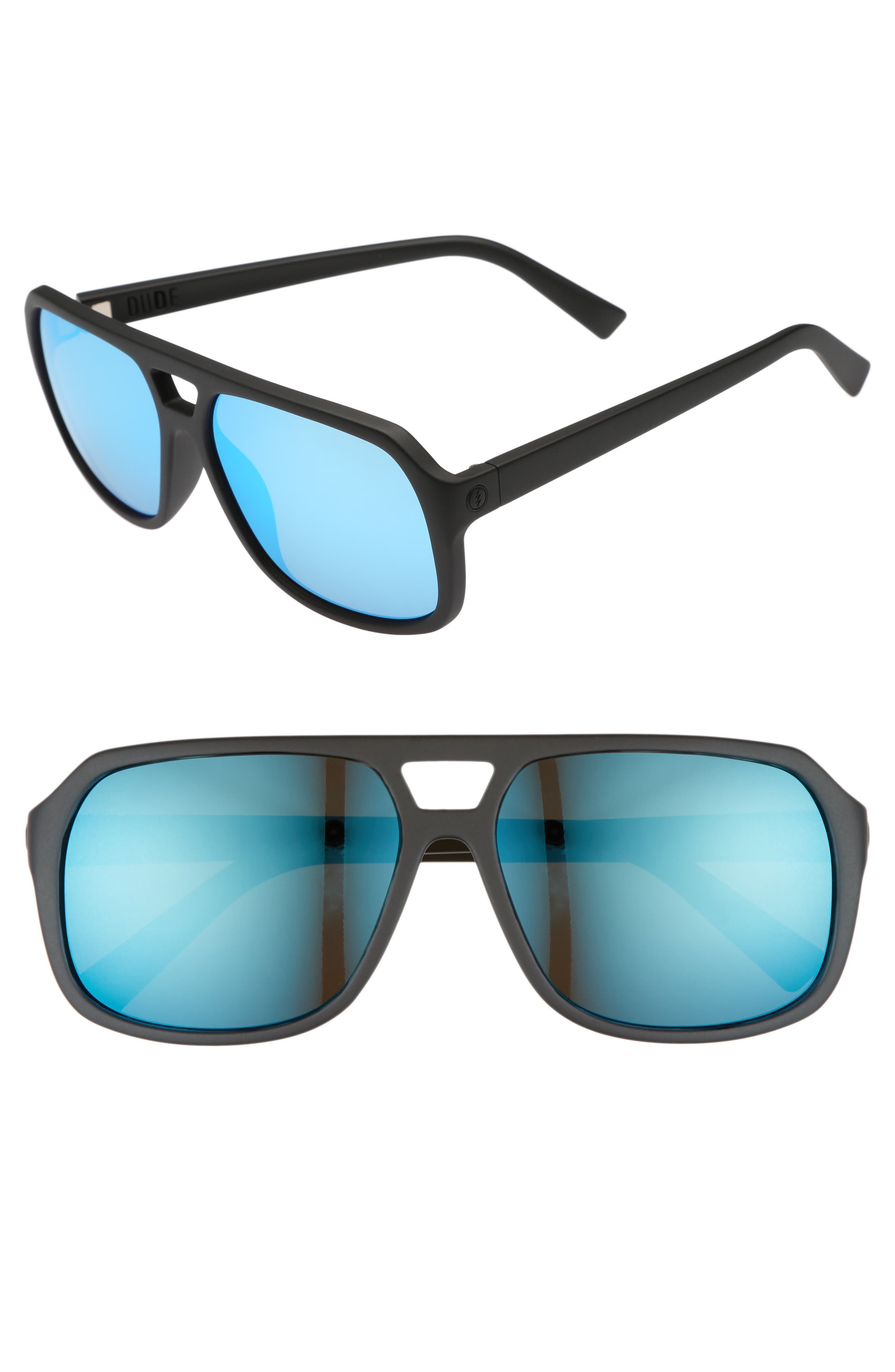 Dude 58mm Sunglasses,                             Main thumbnail 1, color,                             001