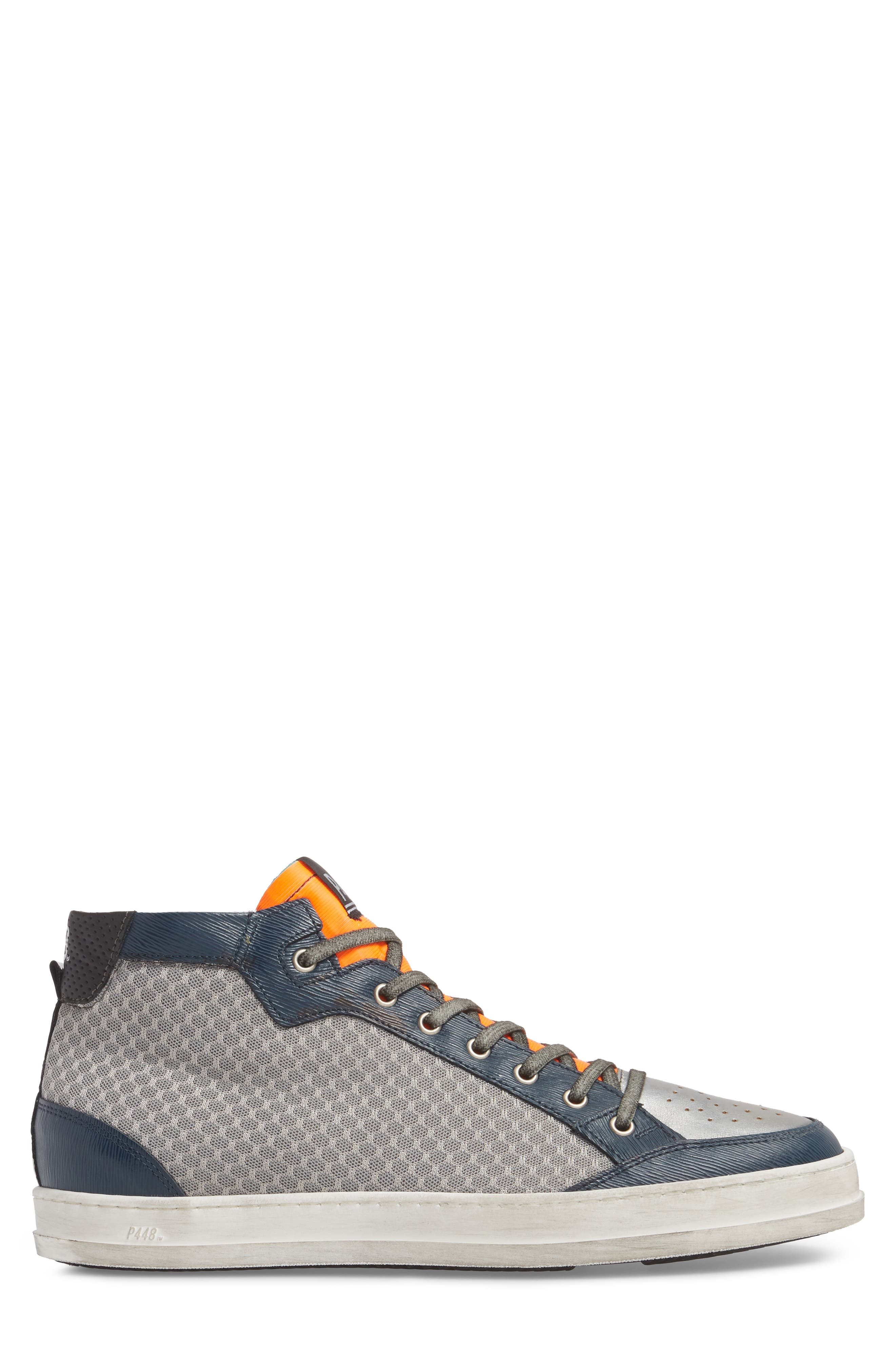 Love High Top Sneaker,                             Alternate thumbnail 3, color,                             020