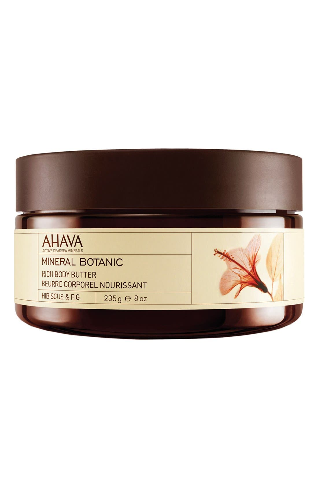 'Hibiscus & Fig' Mineral Botanic Rich Body Butter,                         Main,                         color,
