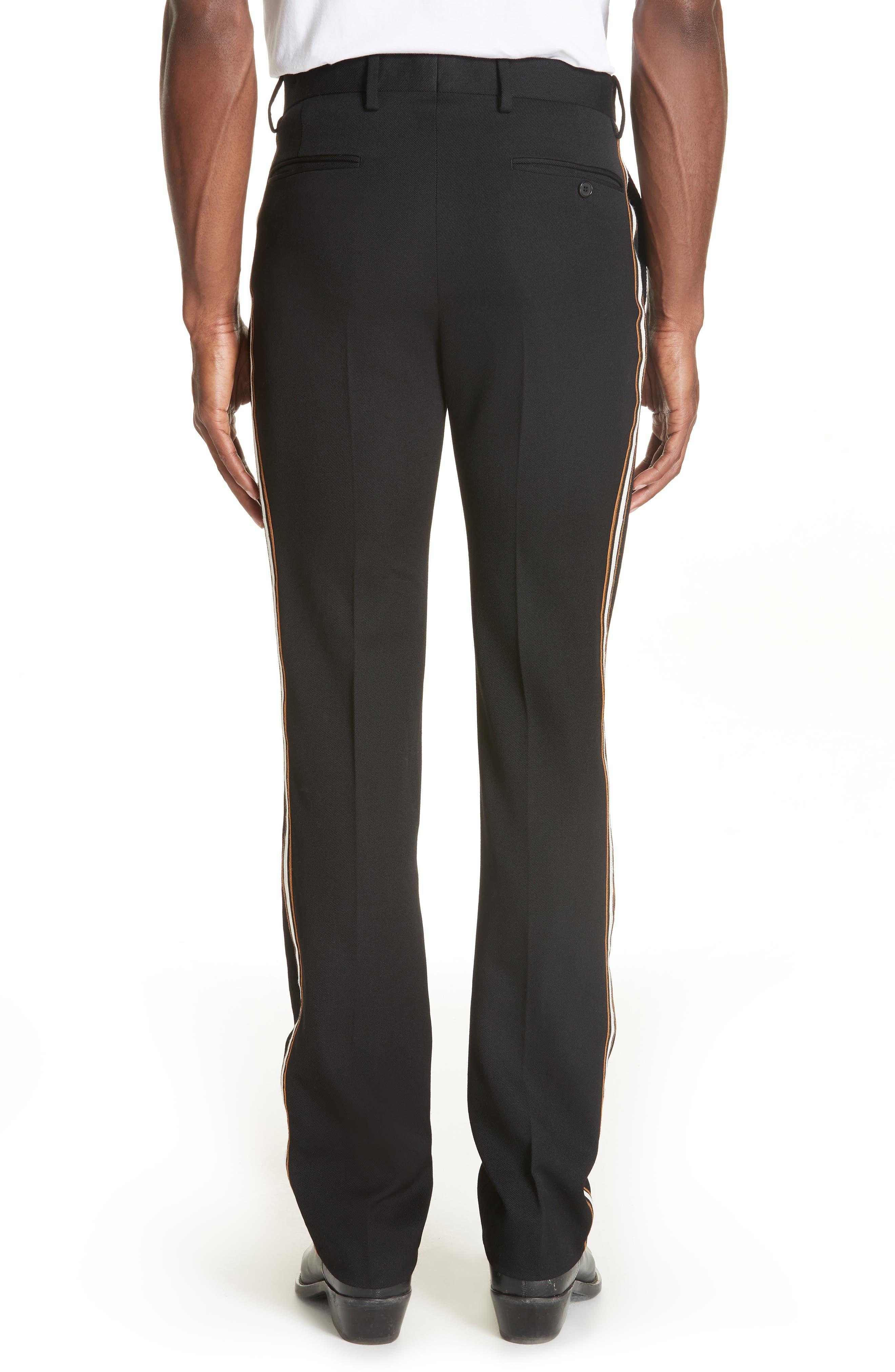 CALVIN KLEIN 205W39NYC,                             Uniform Stripe Trousers,                             Alternate thumbnail 2, color,                             060