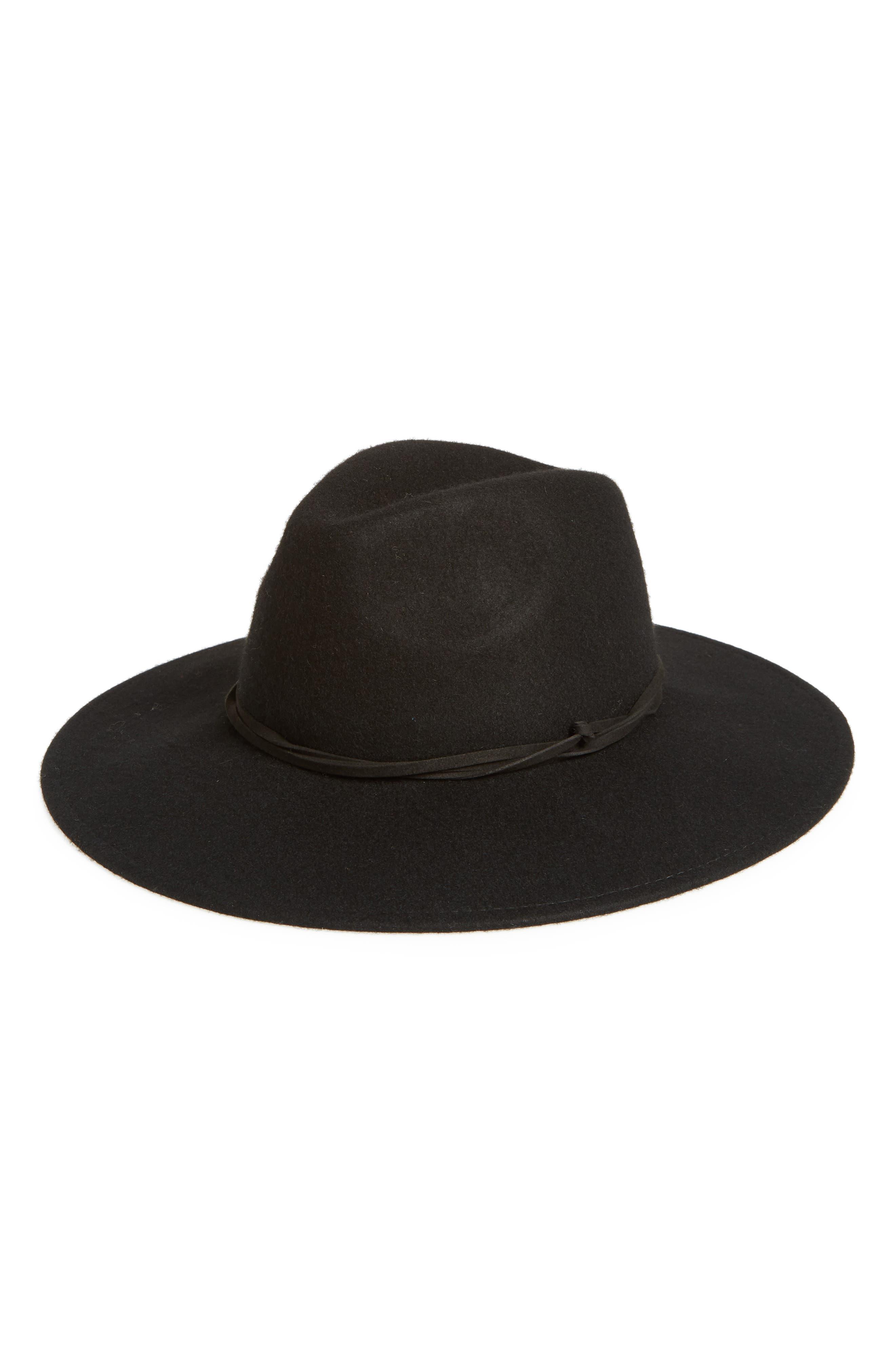 Felt Panama Hat,                             Main thumbnail 1, color,                             001