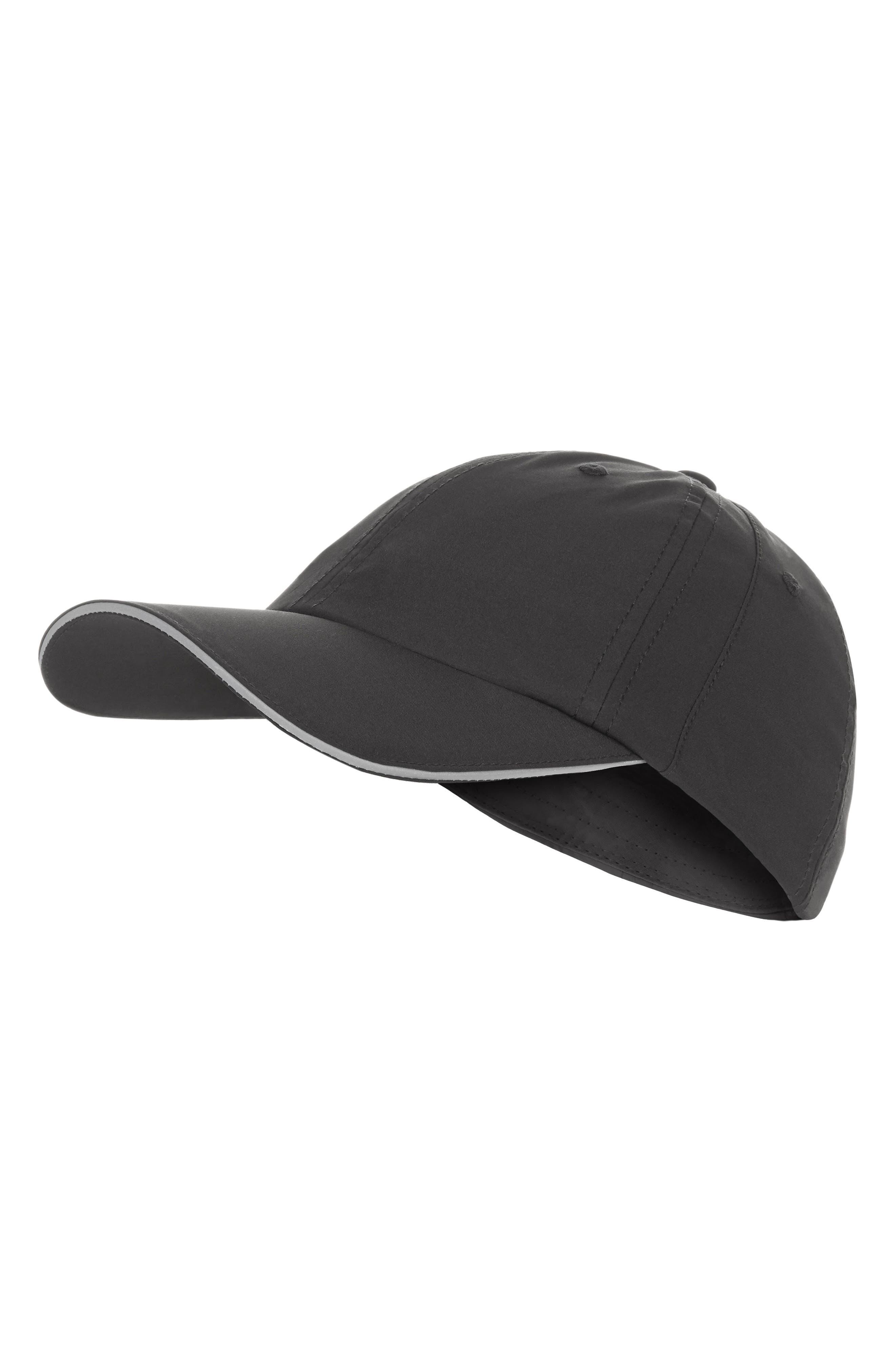Swifie Running Cap,                         Main,                         color, BLACK