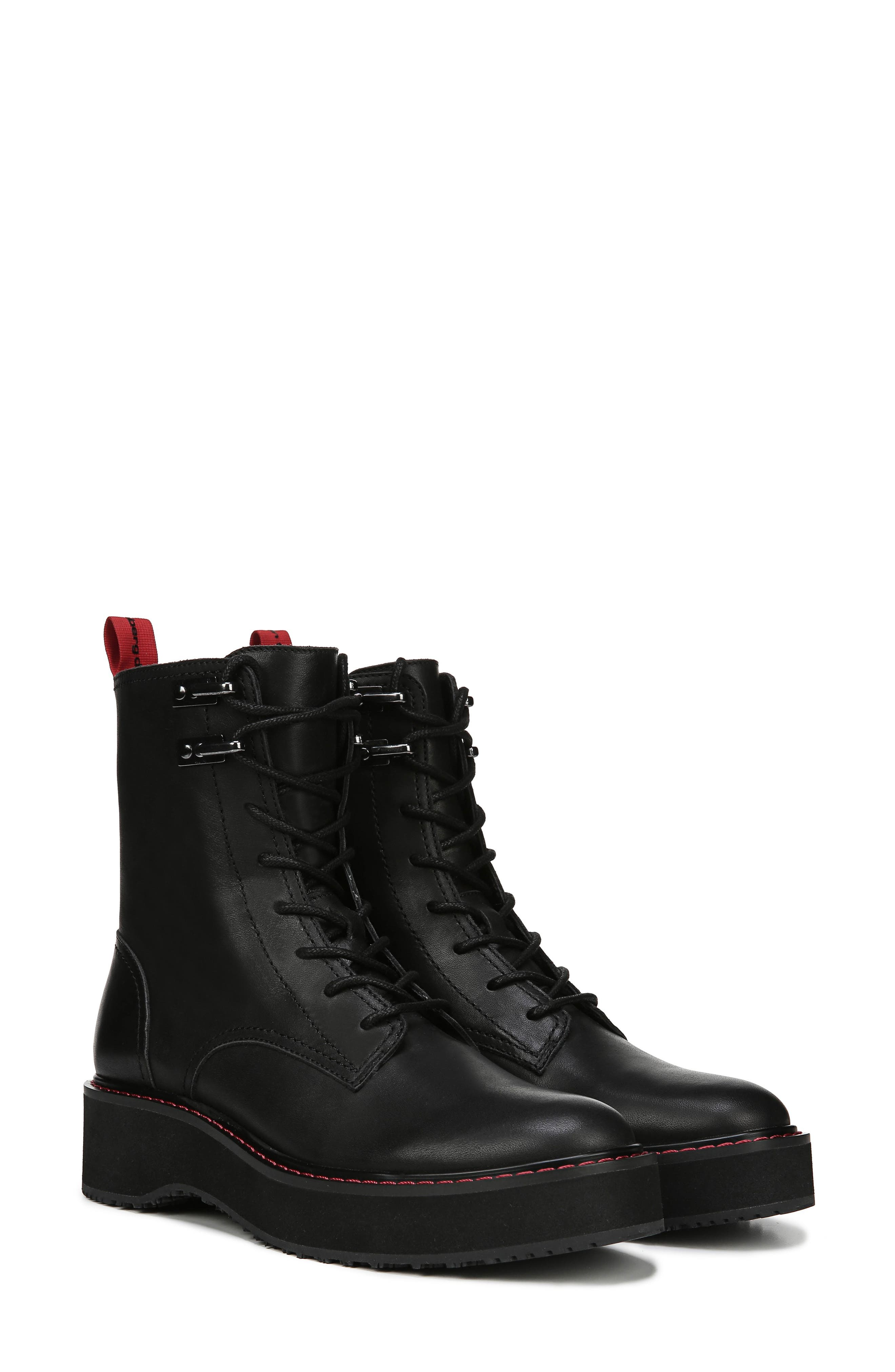 In Charge Boot,                             Alternate thumbnail 8, color,                             BLACK