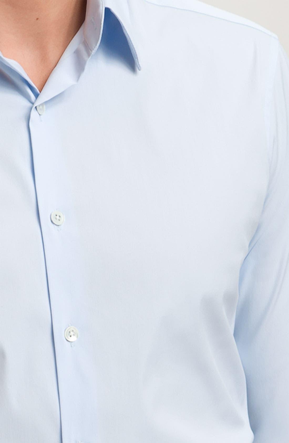 'Sylvain Wealth' Trim Fit Sport Shirt,                             Alternate thumbnail 8, color,                             426