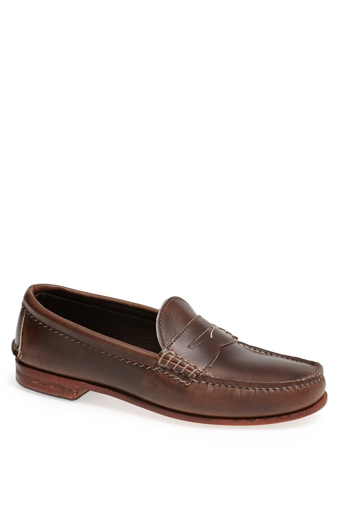 QUODDY 'True' Penny Loafer, Main, color, 204