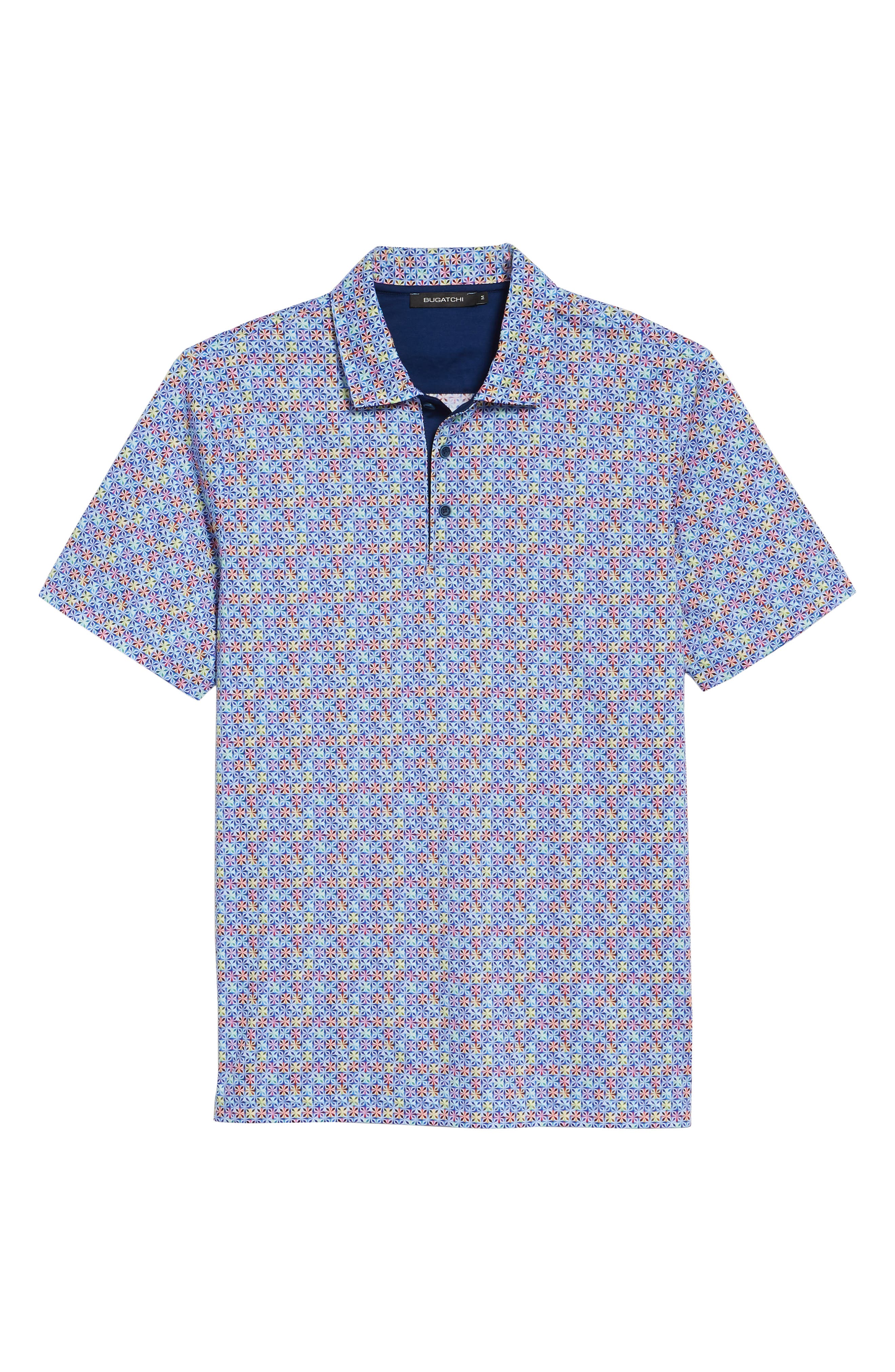 Regular Fit Knit Polo,                             Alternate thumbnail 6, color,                             CANDY