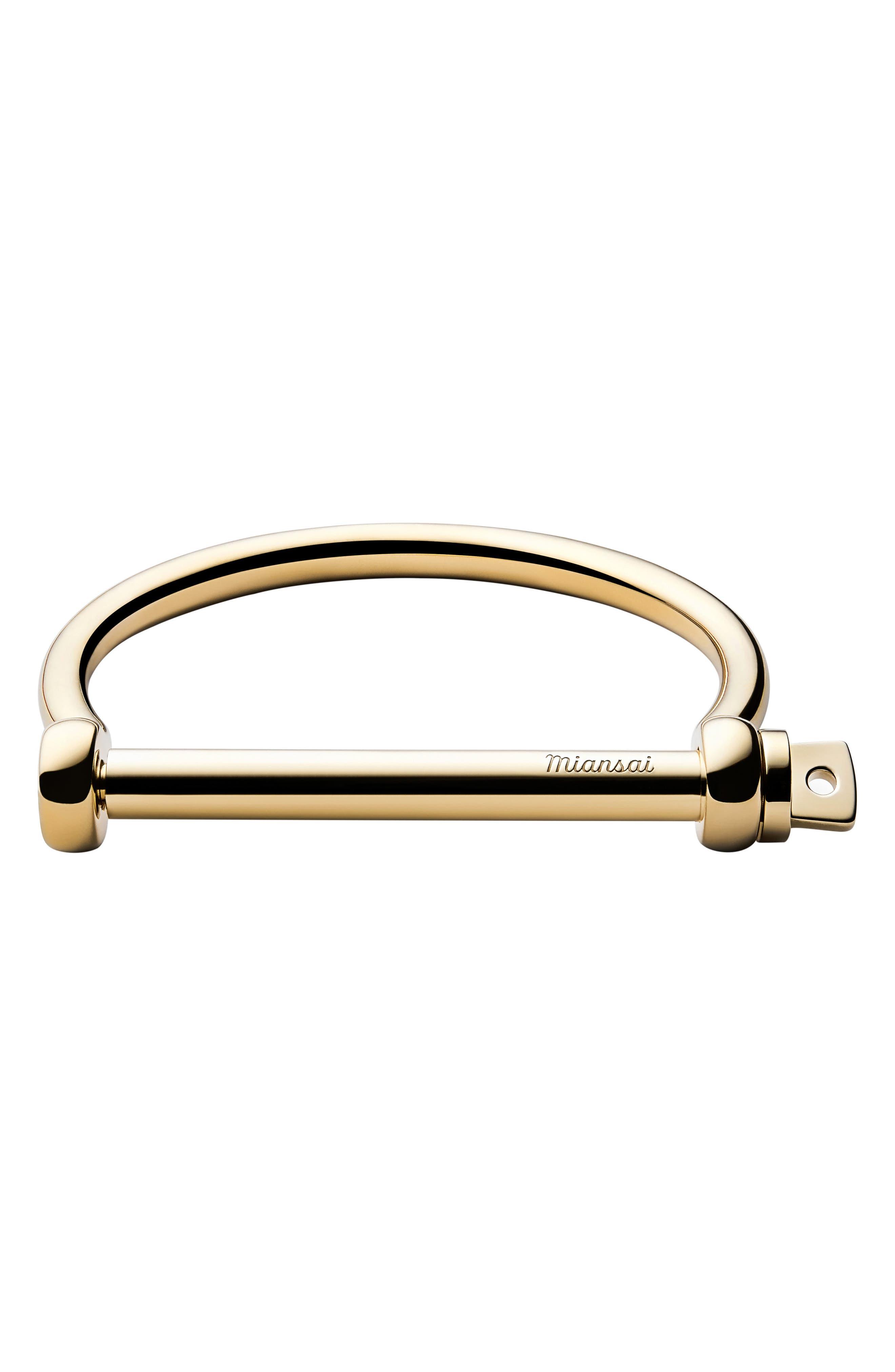 Screw Cuff Bracelet, Main, color, 710