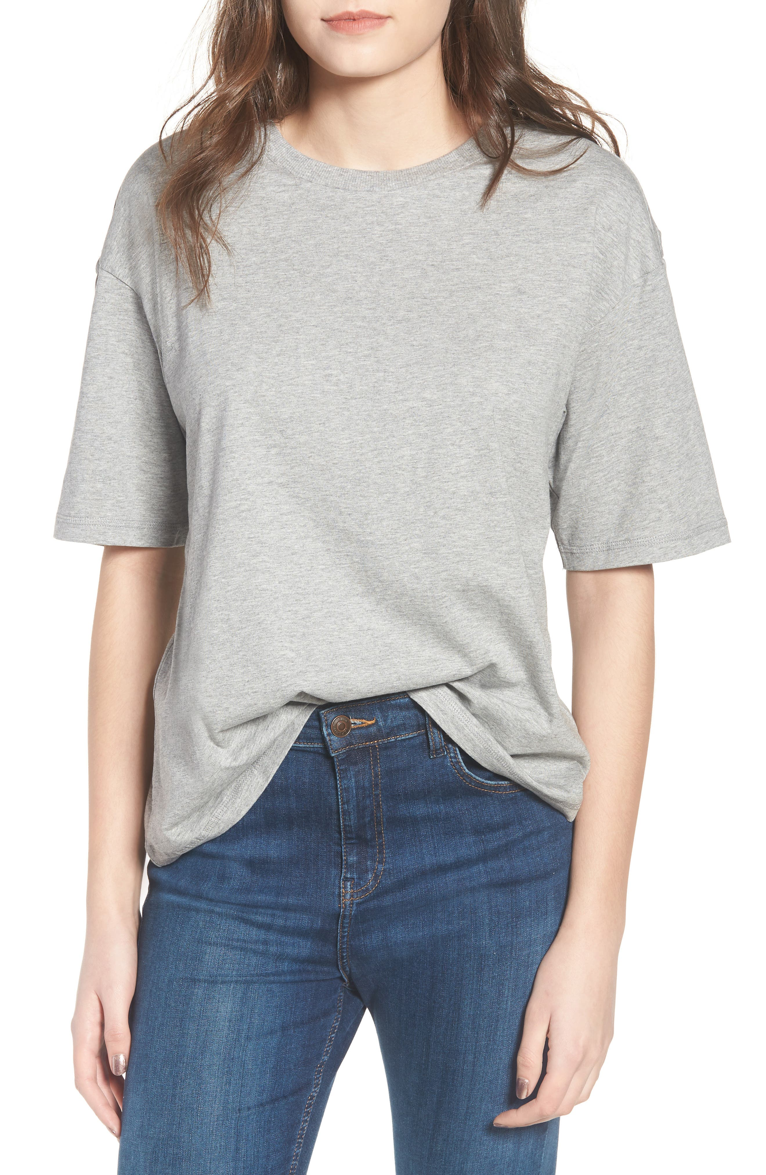 Boxy T-Shirt,                         Main,                         color, 020