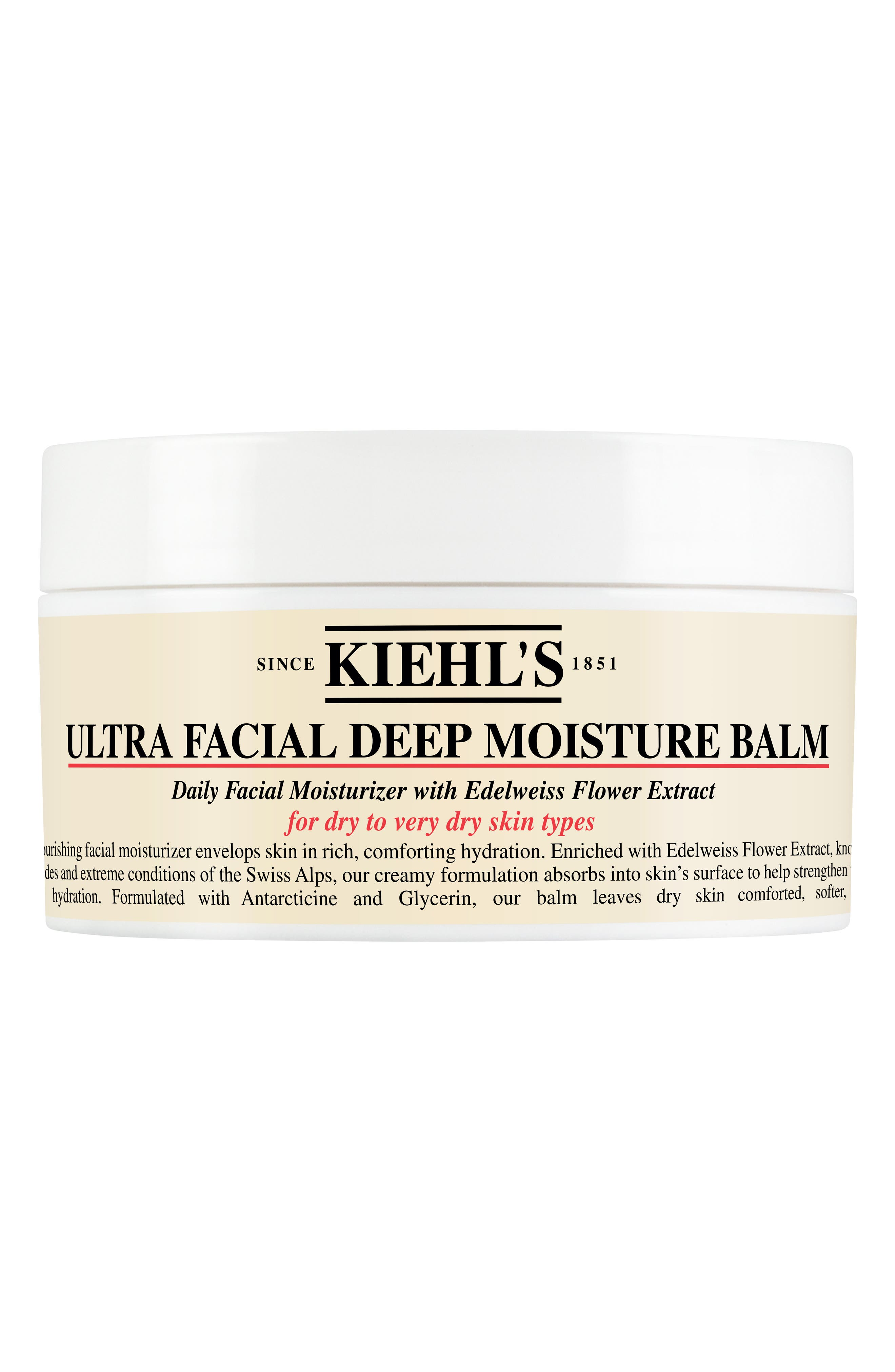 Ultra Facial Deep Moisture Balm for Drier Skin Types,                             Main thumbnail 1, color,                             NO COLOR