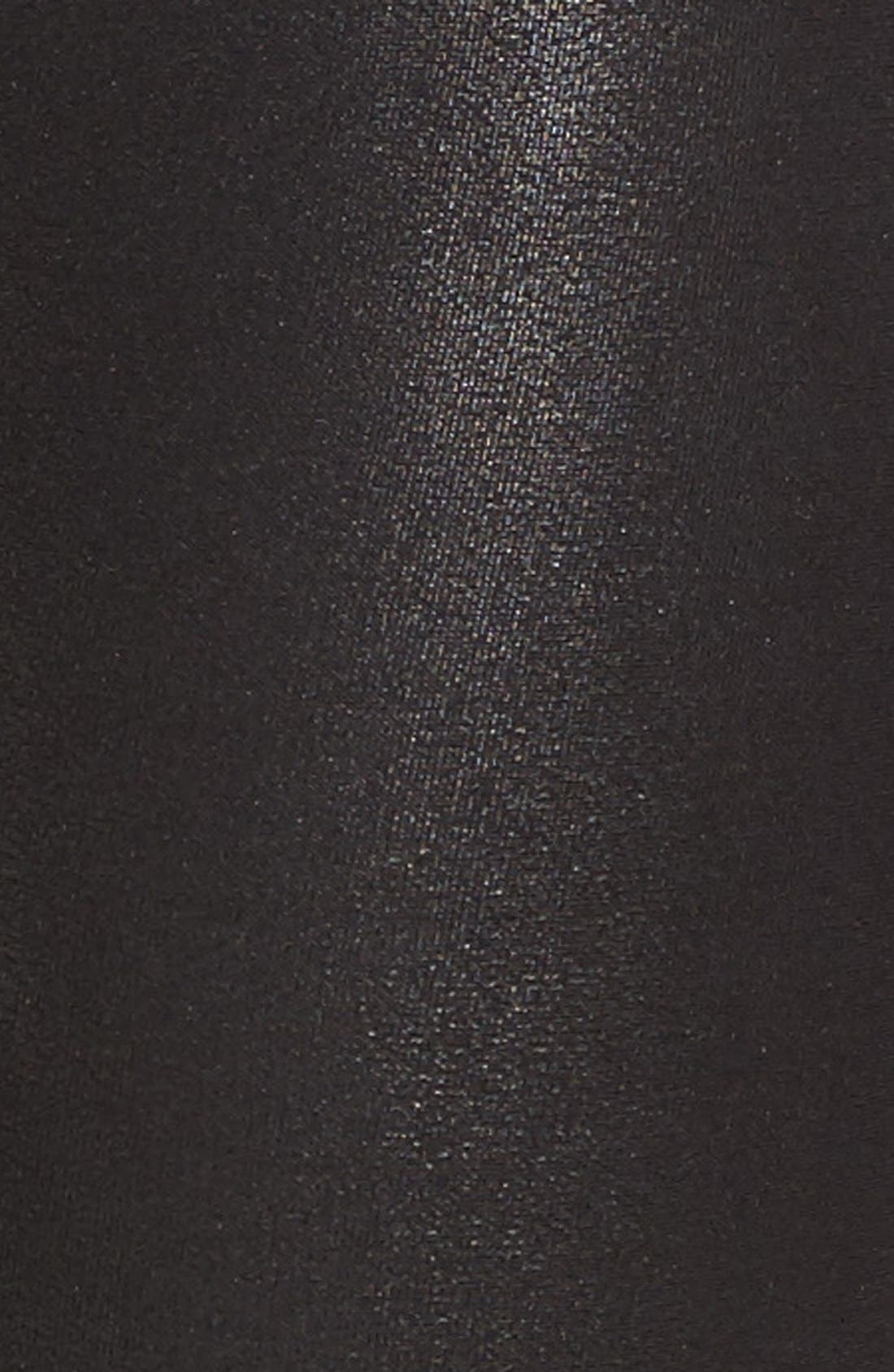 SPANX<SUP>®</SUP>,                             Faux Leather Leggings,                             Alternate thumbnail 9, color,                             BLACK