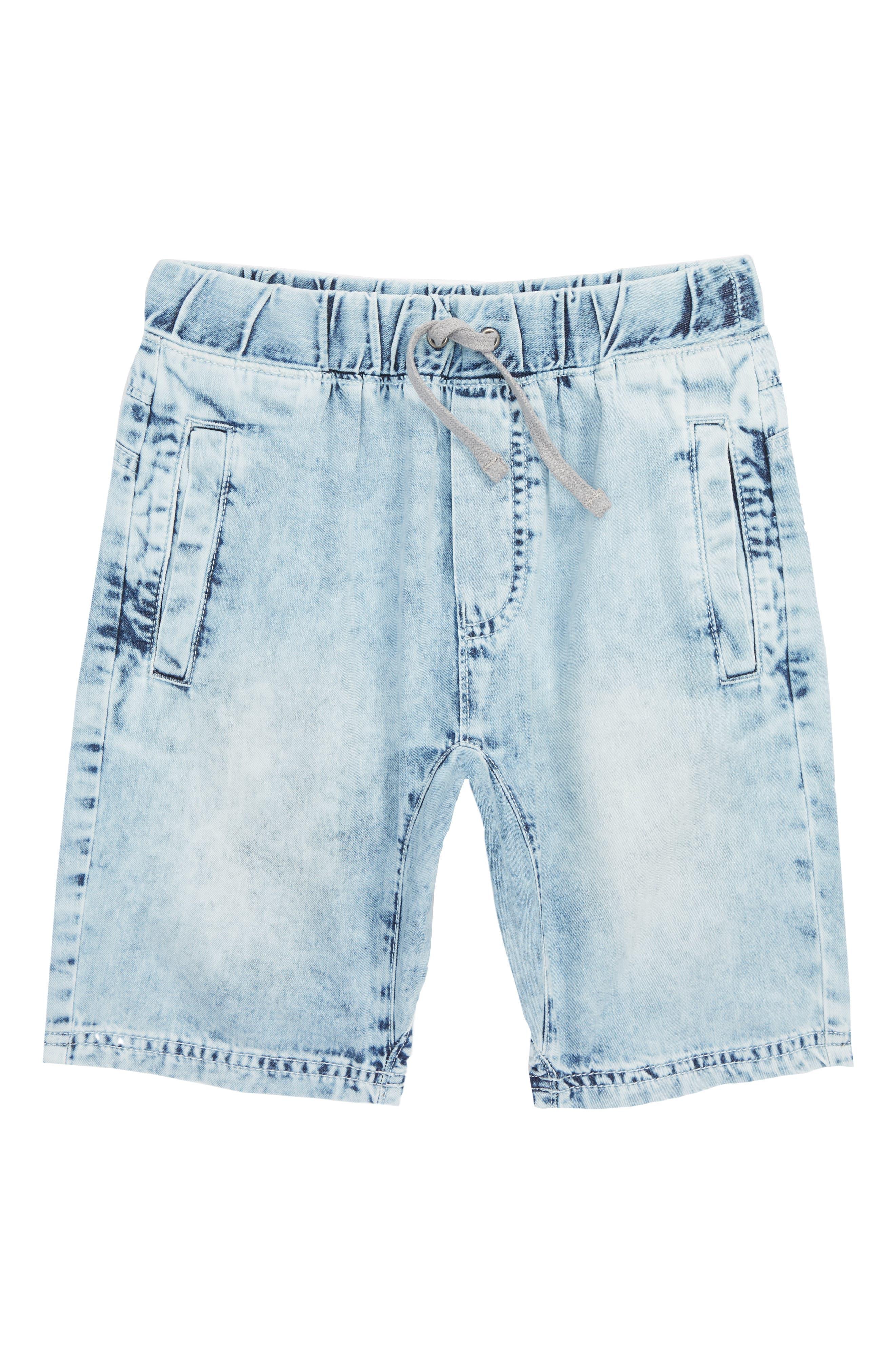 Denim Shorts,                         Main,                         color, 450