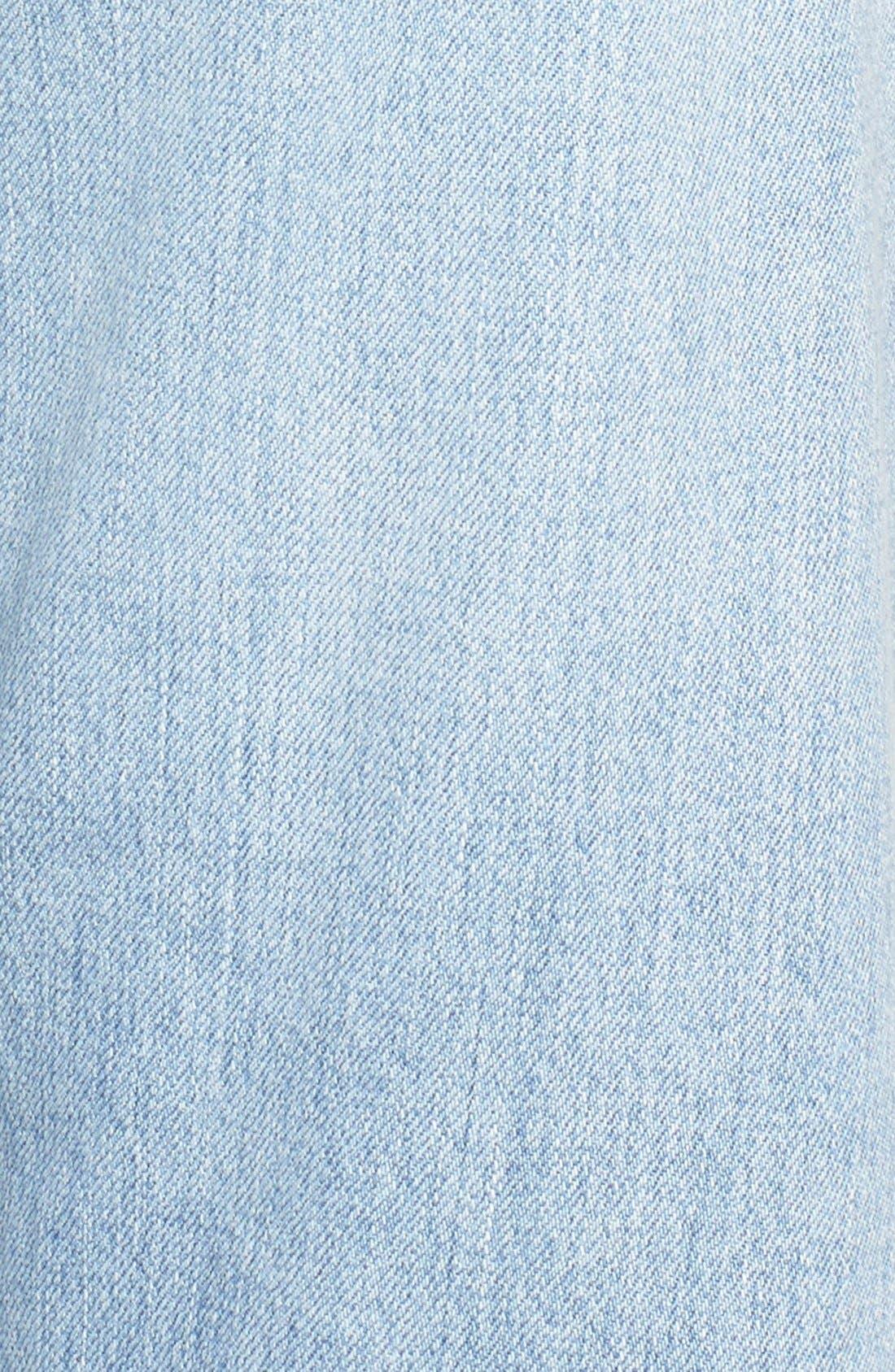 Cora High Waist Released Hem Boyfriend Jeans,                             Alternate thumbnail 6, color,                             454