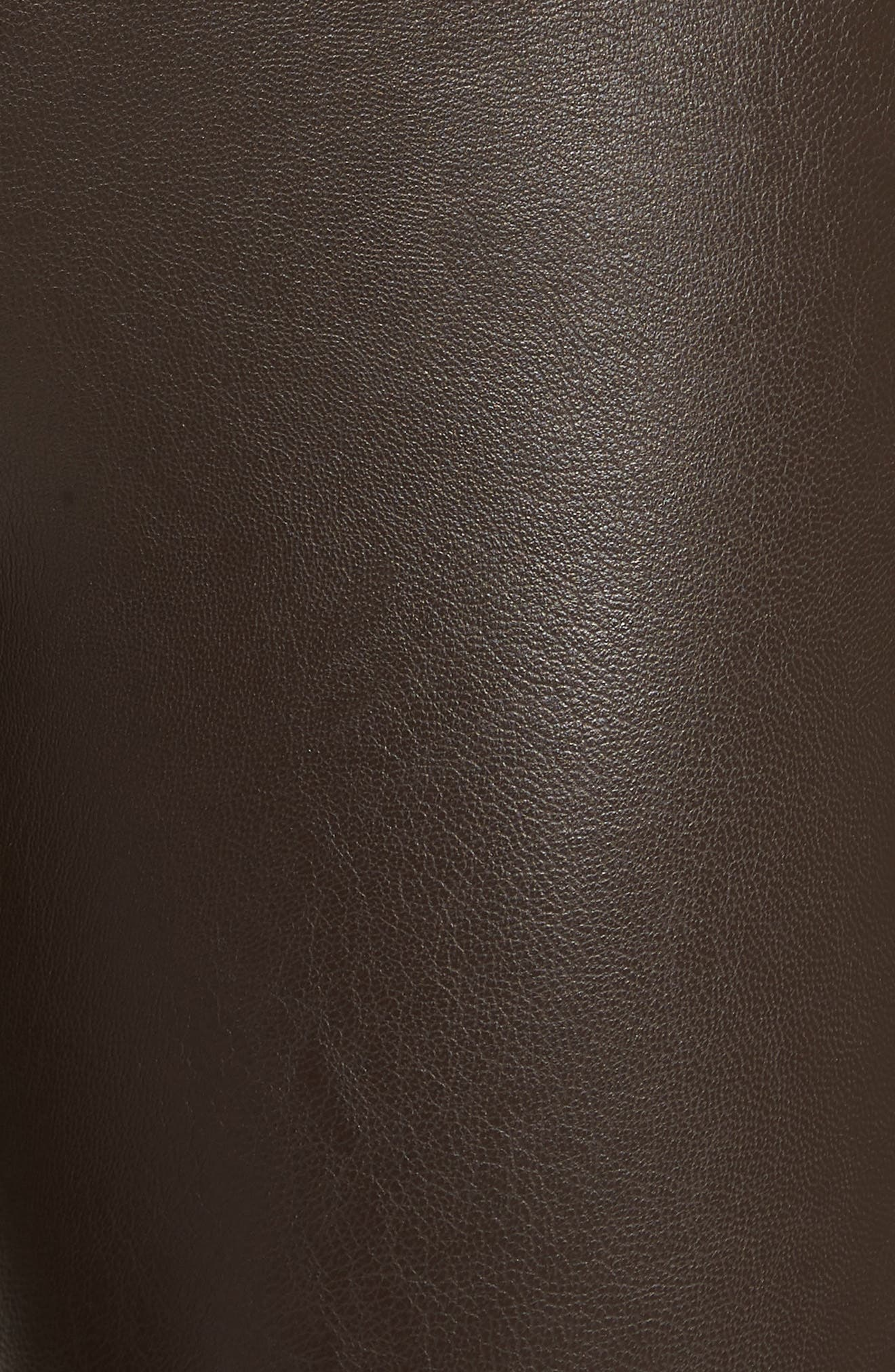 Perfect Control Faux Leather Leggings,                             Alternate thumbnail 6, color,                             201