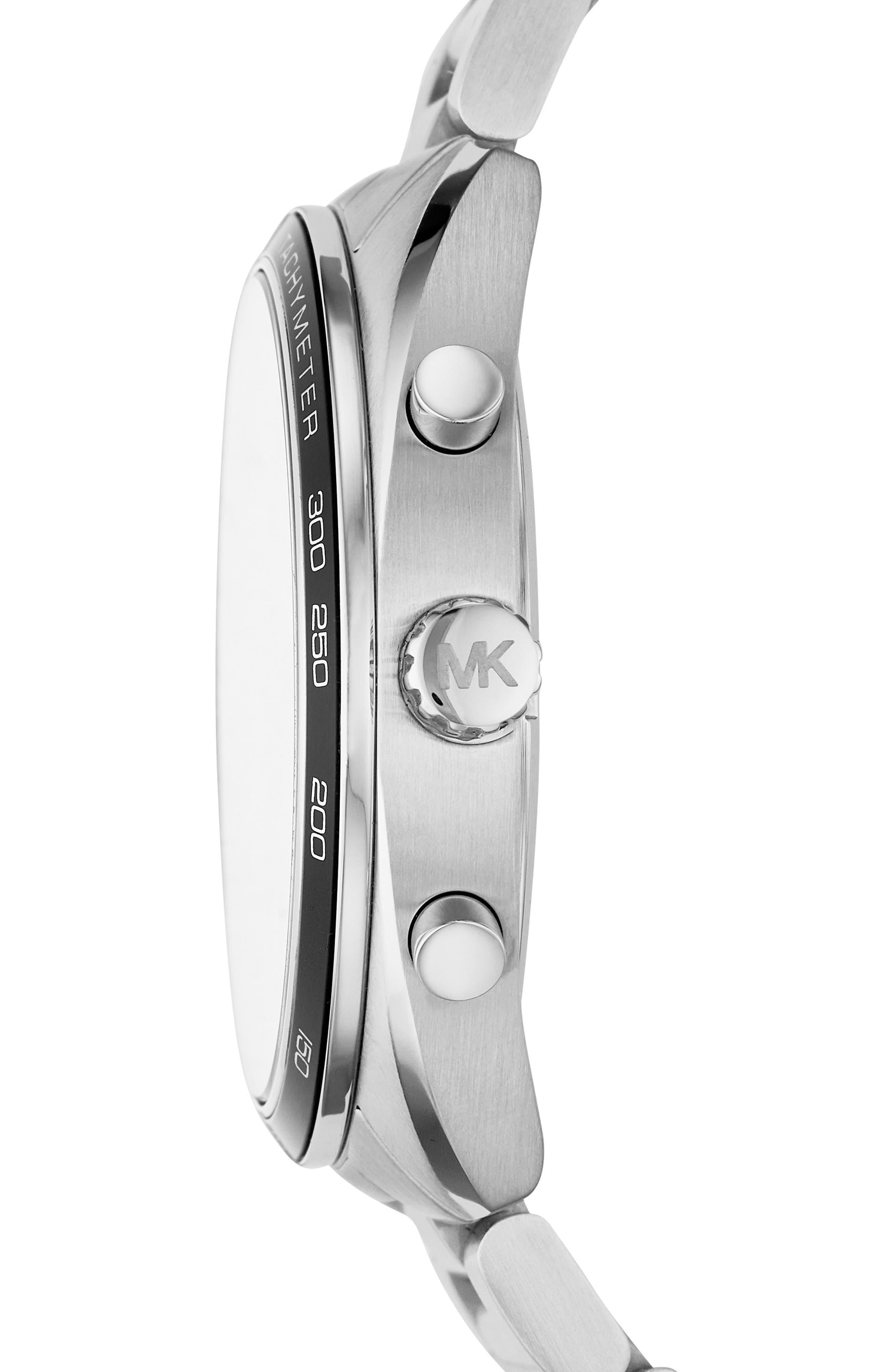 Dane Chronograph Bracelet Watch, 43mm,                             Alternate thumbnail 5, color,