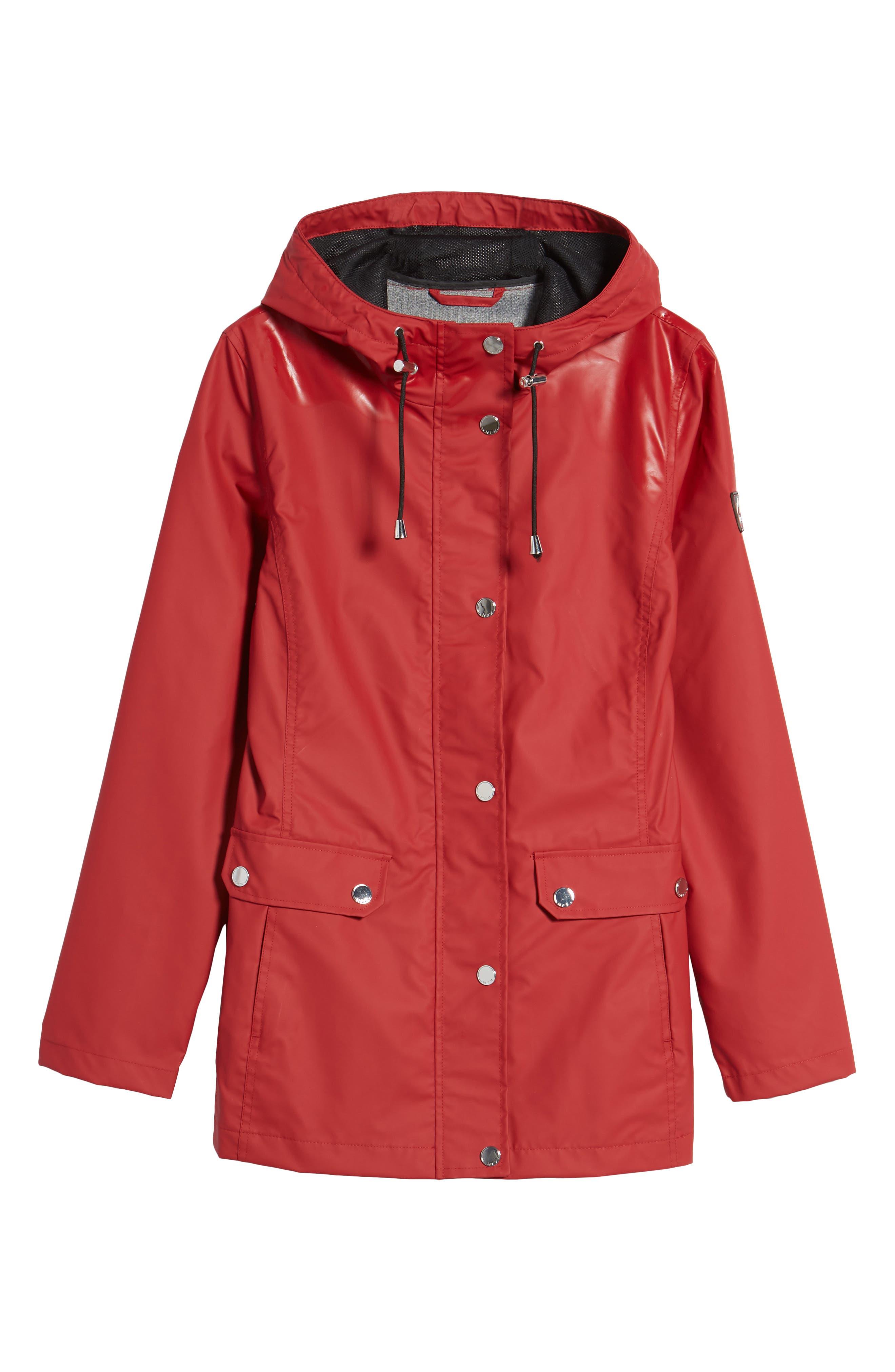 Hooded Raincoat,                             Alternate thumbnail 24, color,