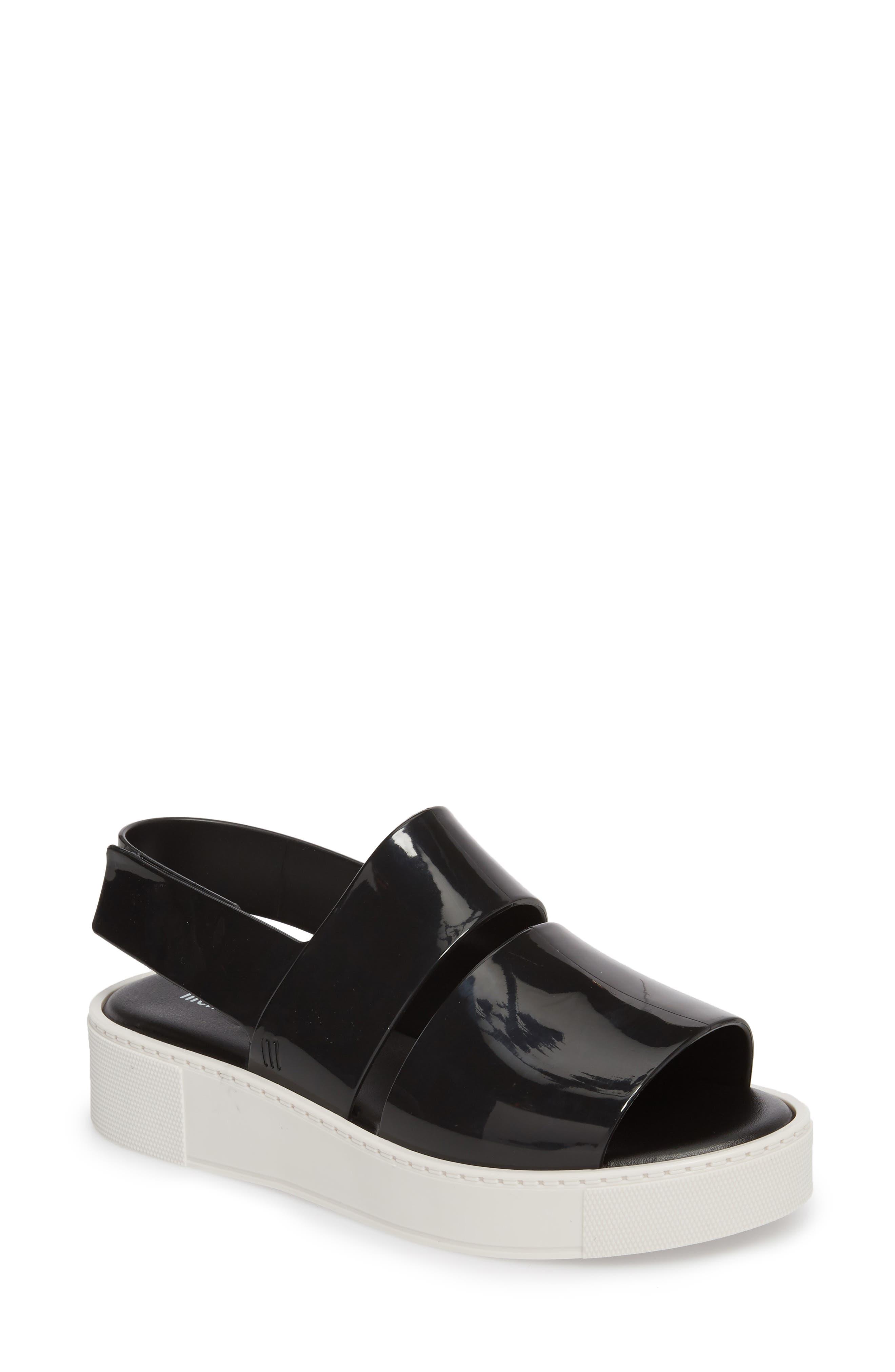 Soho Platform Sandal,                         Main,                         color, 001