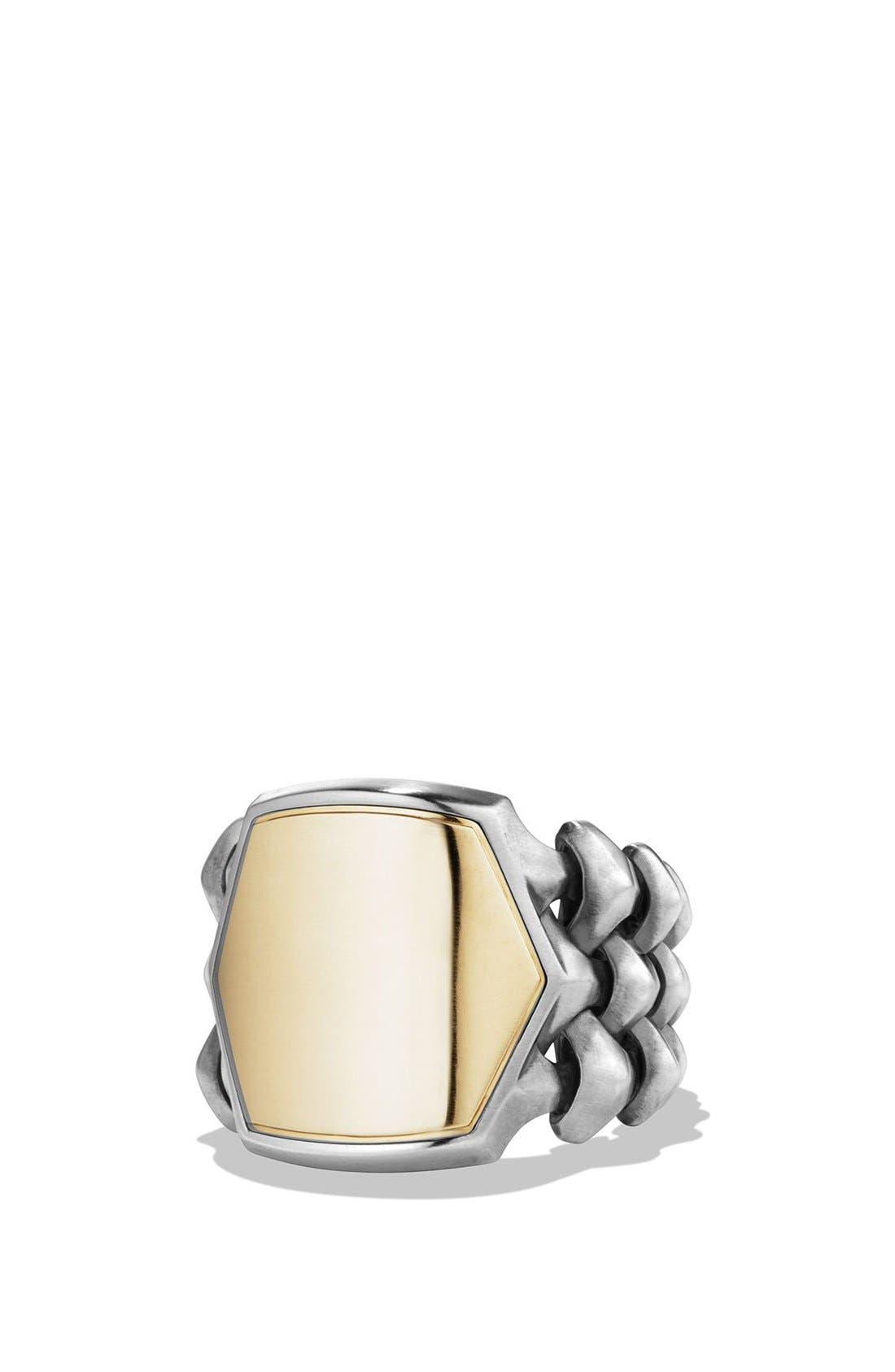 'Armory' Signet Ring,                             Main thumbnail 1, color,                             041