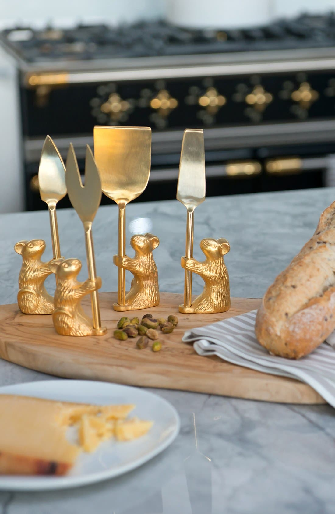 'Guard the Cheese' Cheese Knives,                             Alternate thumbnail 4, color,                             710