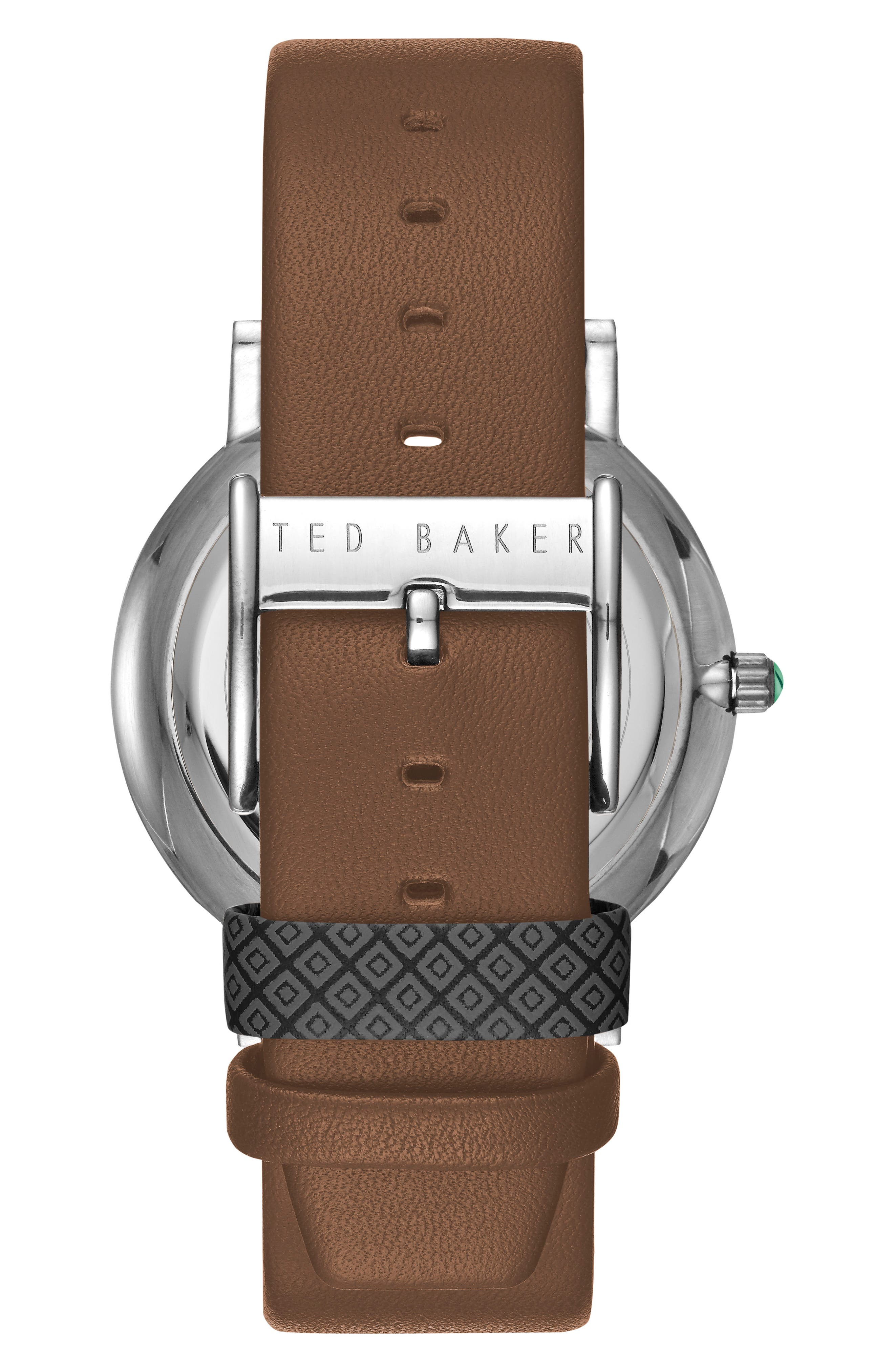 Grant Leather Strap Watch, 40mm,                             Alternate thumbnail 2, color,                             210