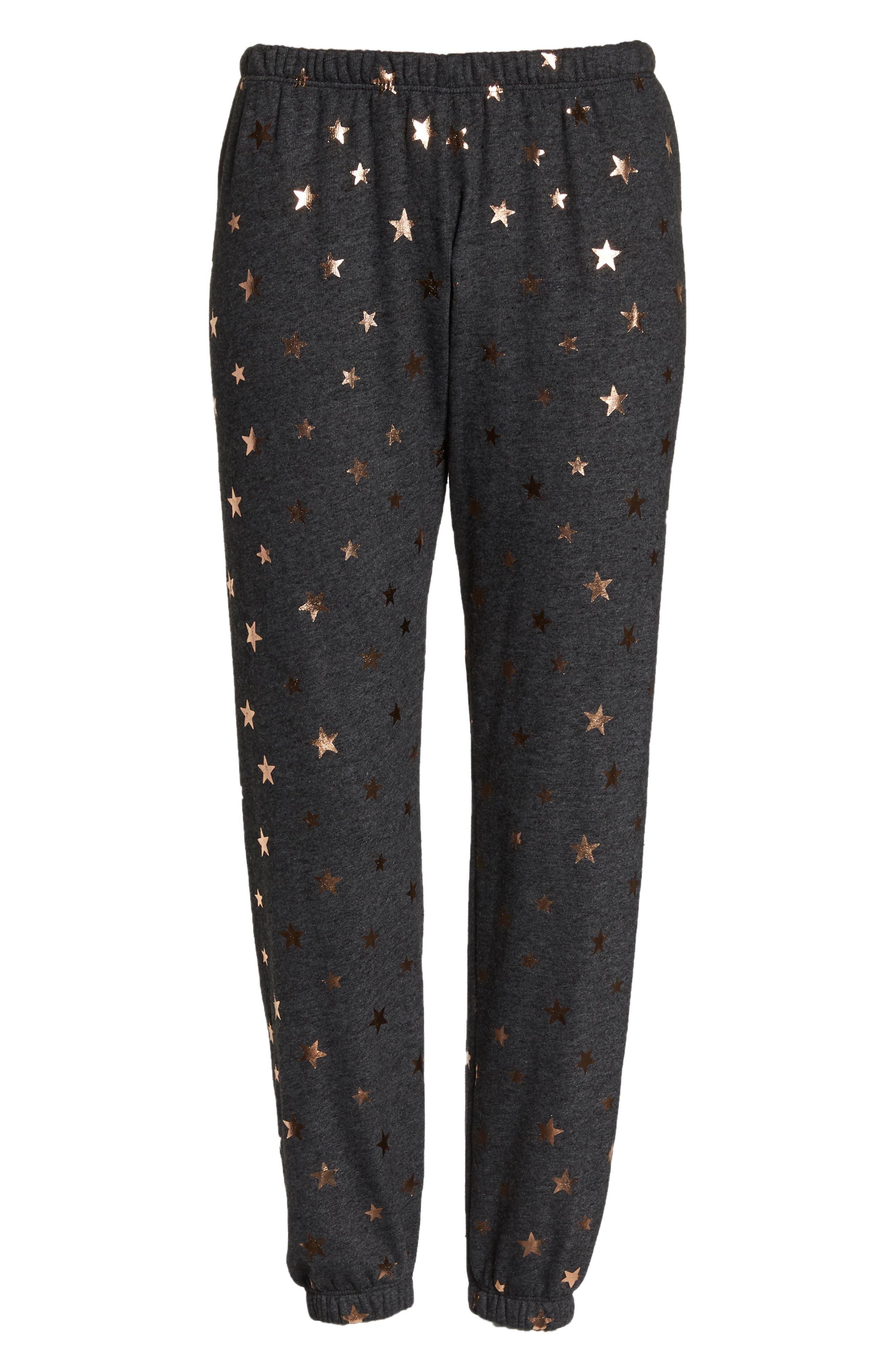 Stars Perfect Knit Pants,                             Alternate thumbnail 7, color,                             003