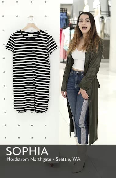 Stripe T-Shirt Dress, sales video thumbnail
