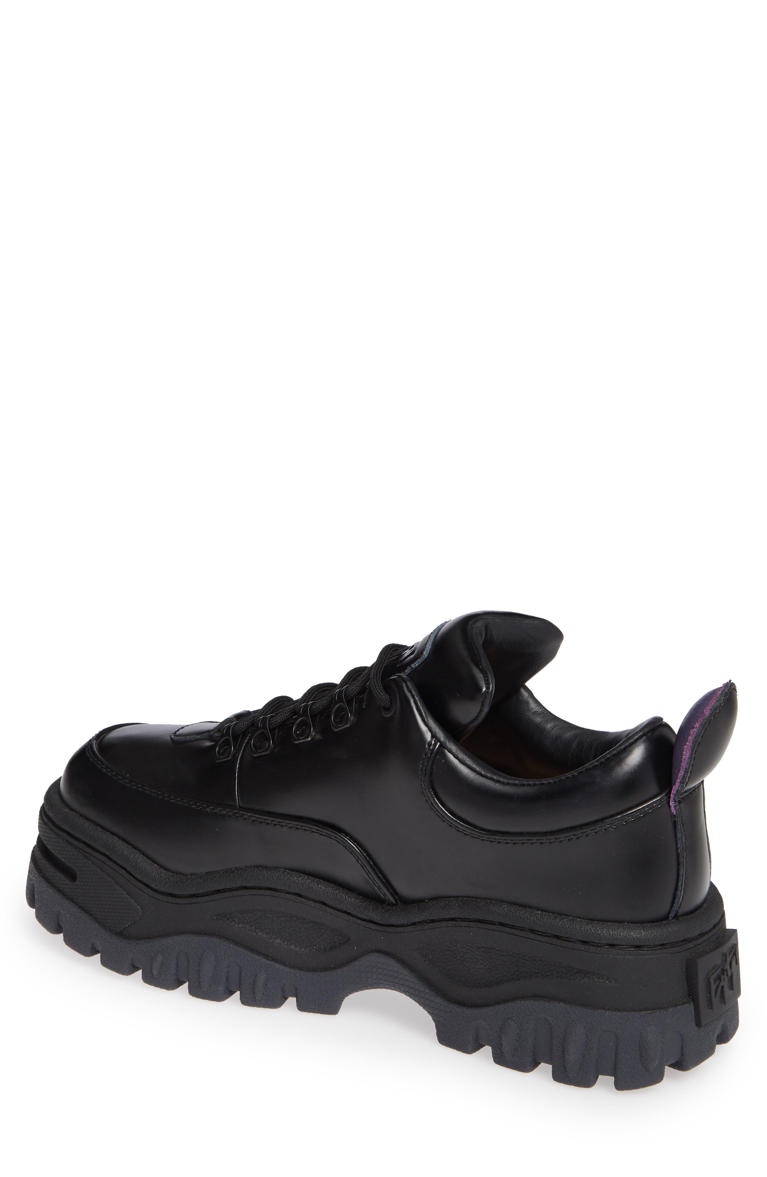 Angel Lug Sole Sneaker,                             Alternate thumbnail 2, color,                             BLACK