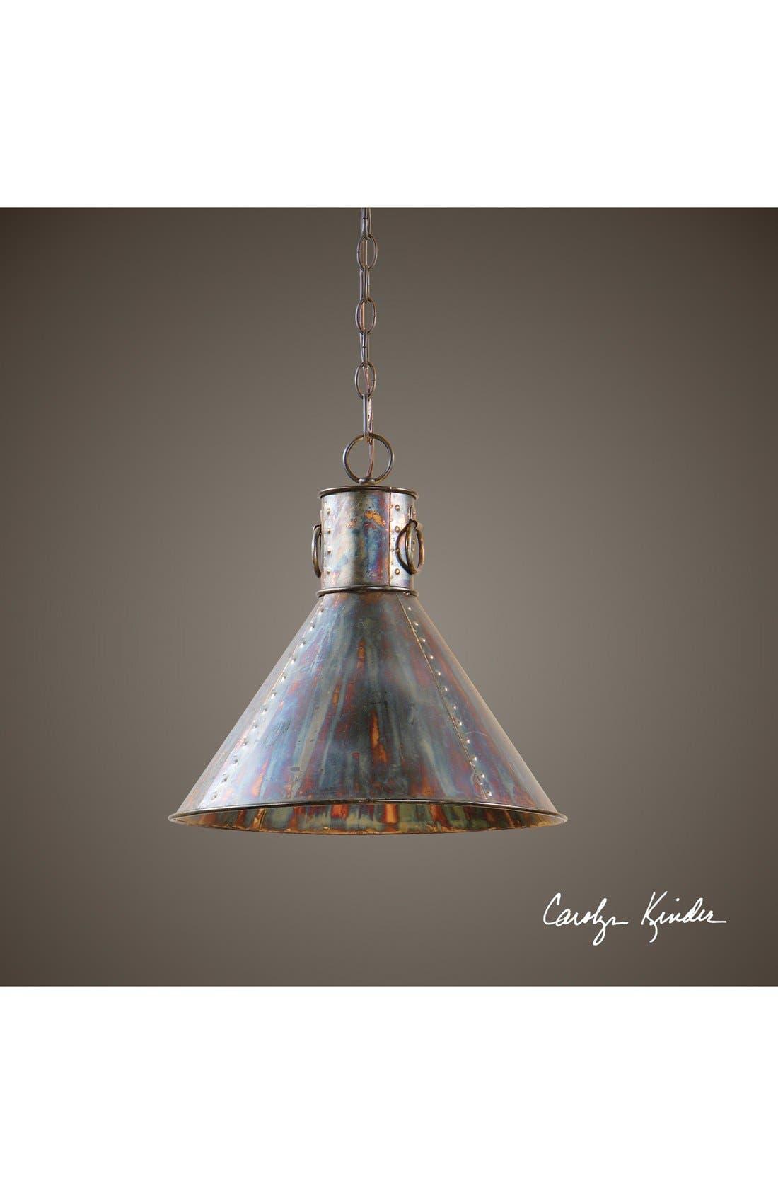 'Albiano Series - Levone' Oxidized Bronze Pendant Lamp,                             Alternate thumbnail 2, color,                             220