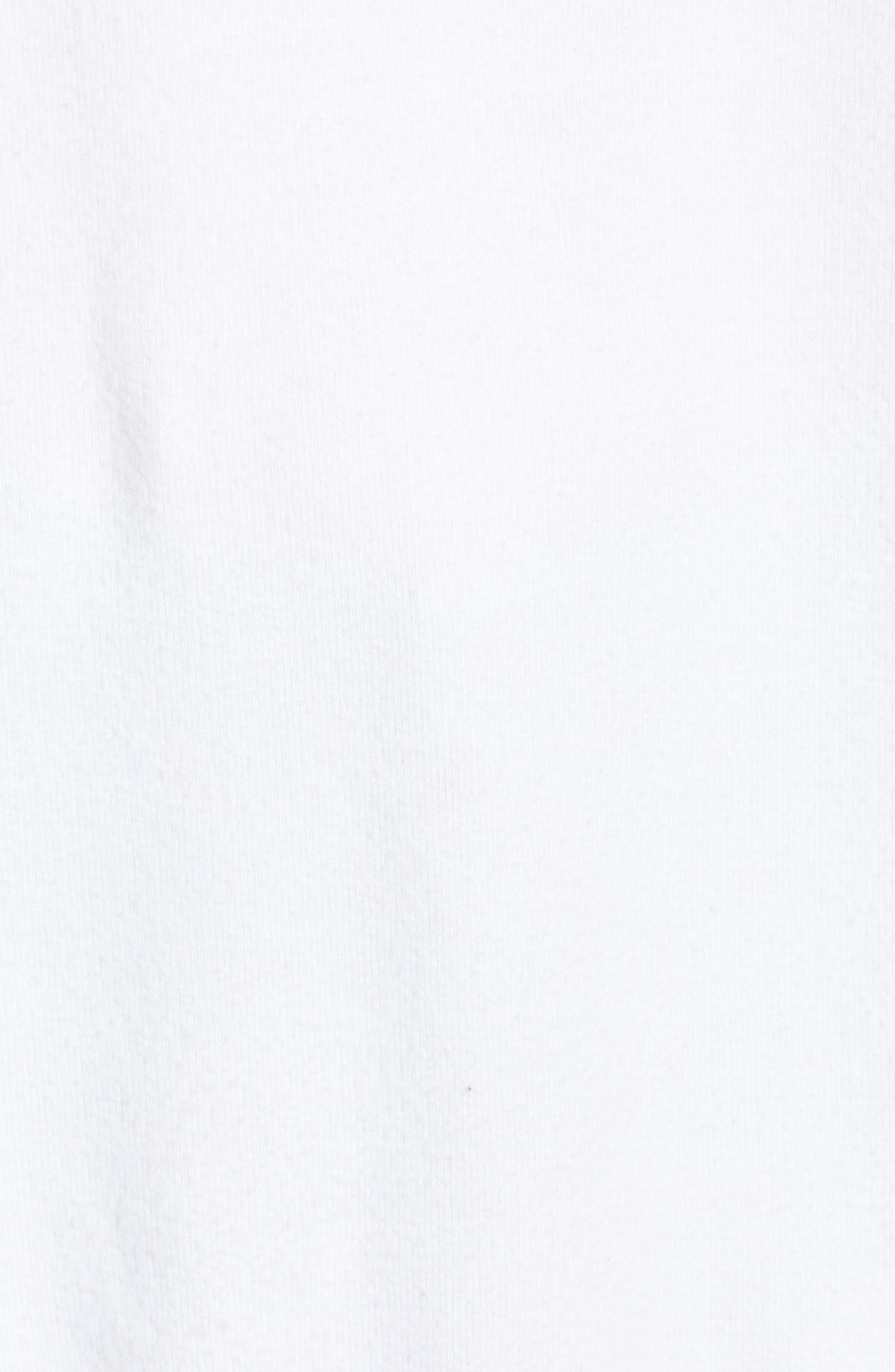 Roadtrip - Racer Check Sweatshirt,                             Alternate thumbnail 5, color,                             CLEAN WHITE