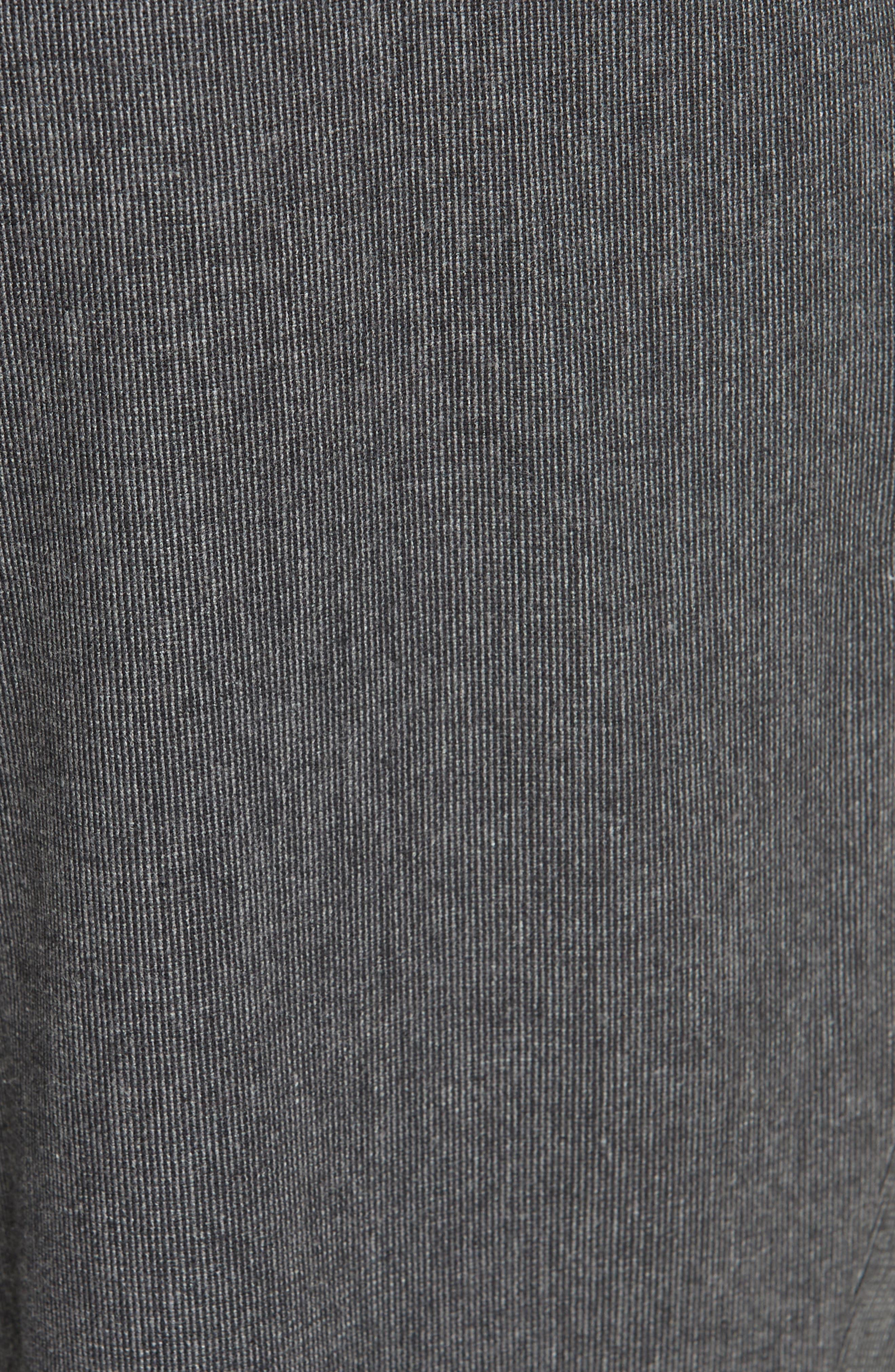 Trim Fit Sport Trousers,                             Alternate thumbnail 5, color,                             CHARCOAL