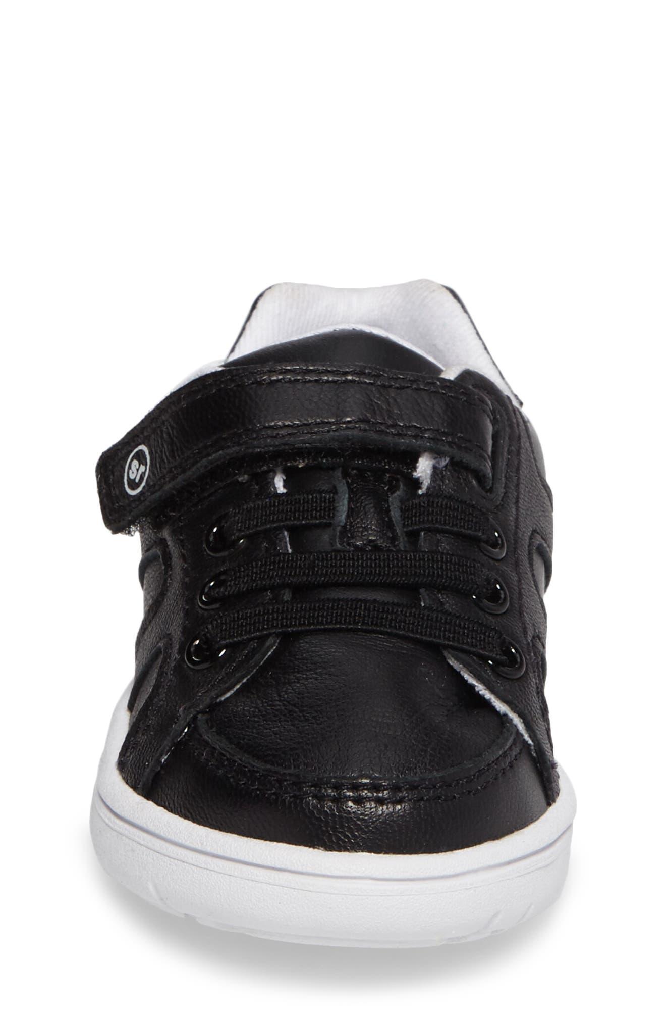 SRT Noe Sneaker,                             Alternate thumbnail 4, color,                             BLACK