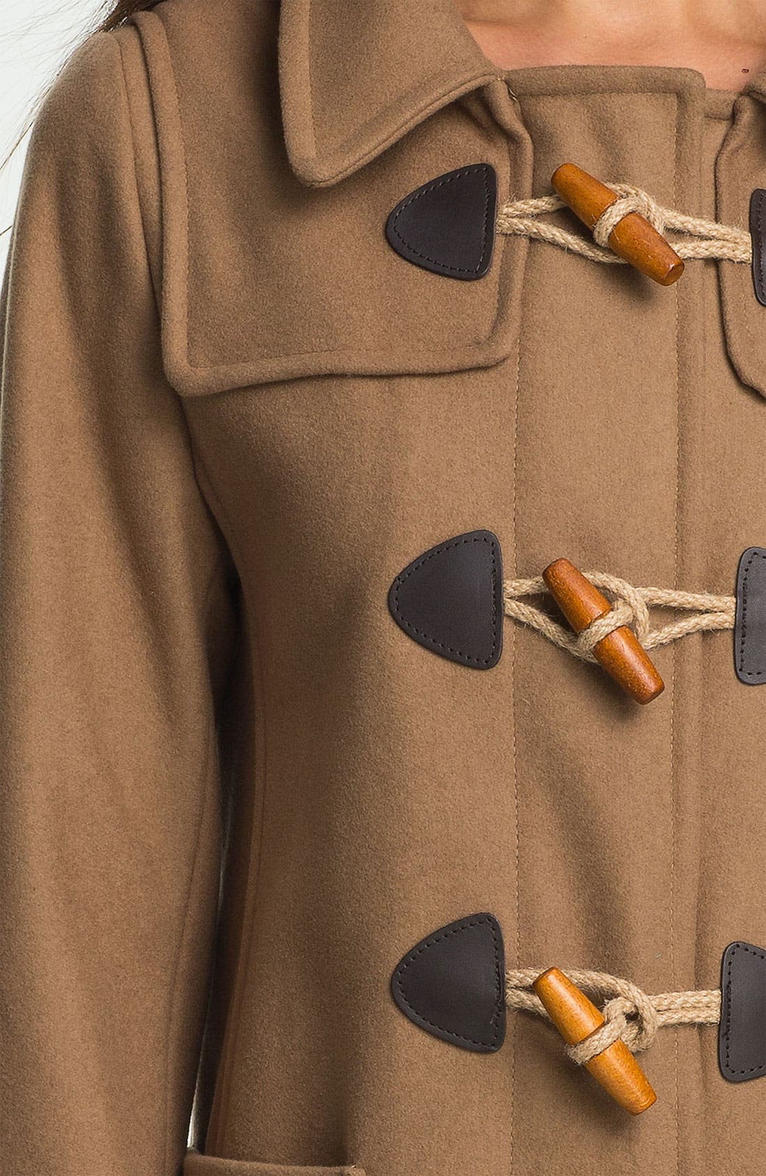 GLOVERALL,                             Swing Duffle Coat,                             Alternate thumbnail 3, color,                             250