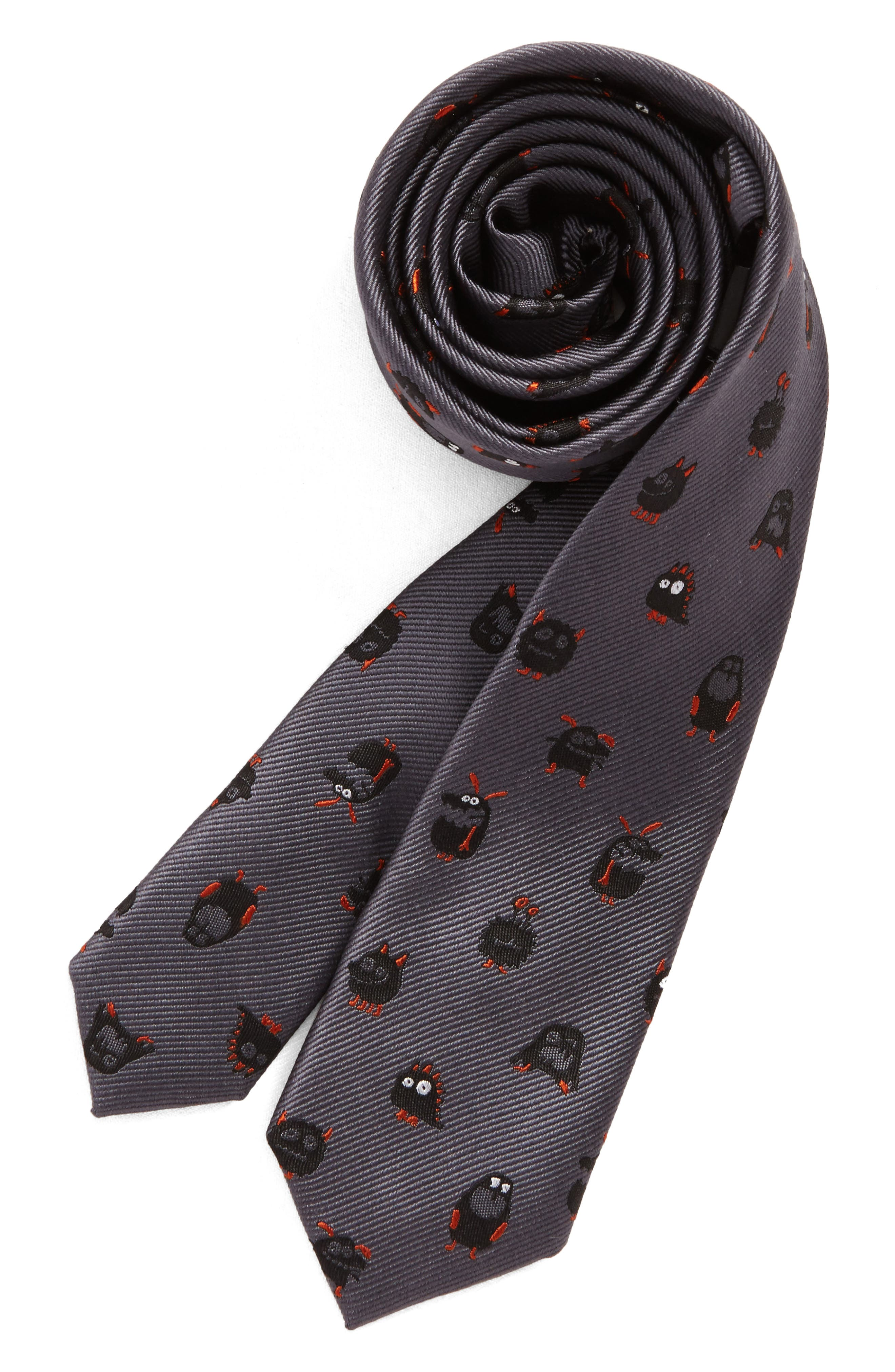 Patterned Silk Tie,                             Main thumbnail 5, color,