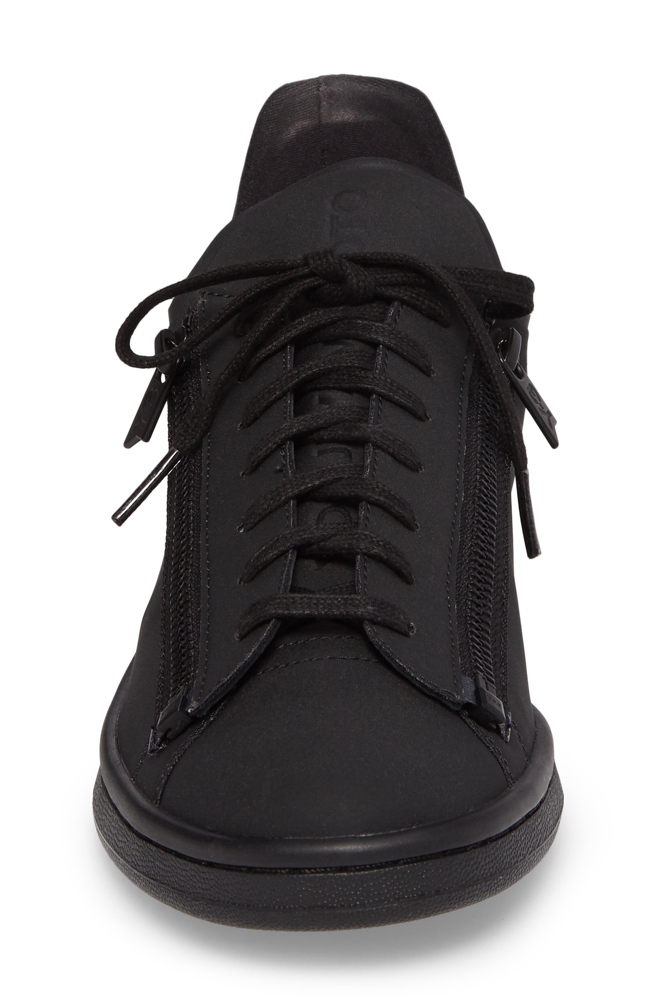 Stan Low Top Sneaker,                             Alternate thumbnail 4, color,                             001