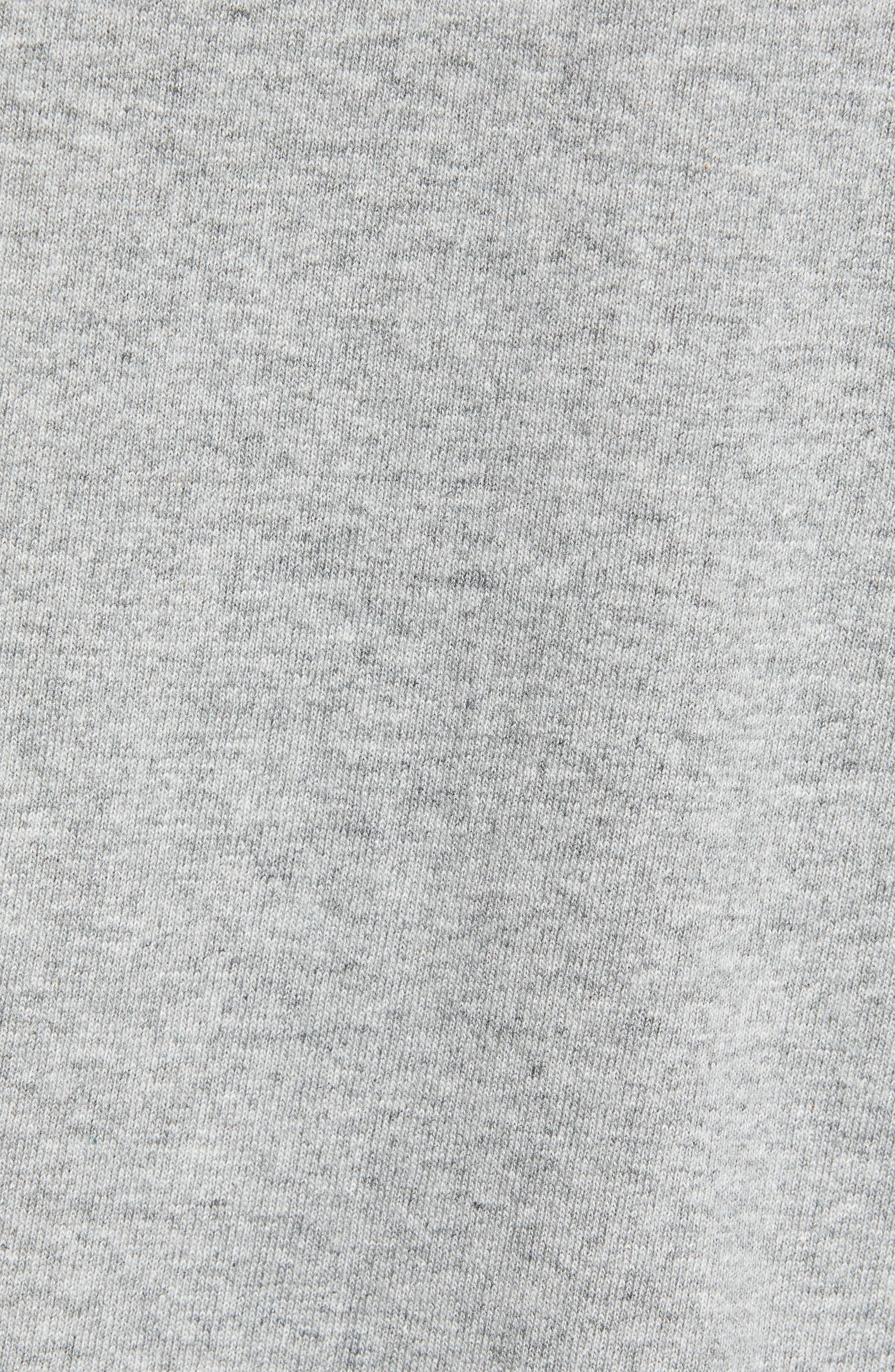Logo T-Shirt,                             Alternate thumbnail 5, color,                             VARSITY HEATHER GREY