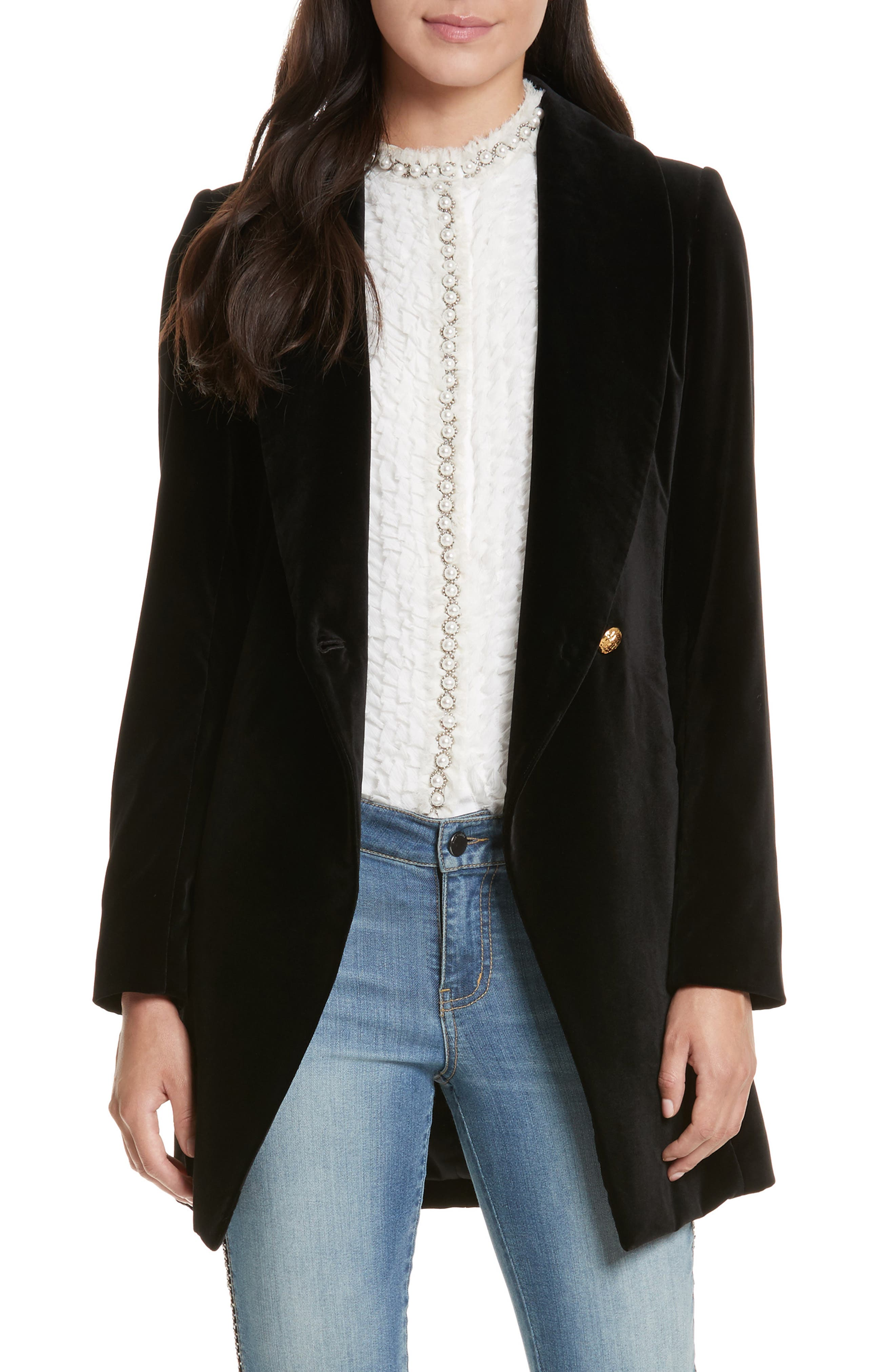 Vance Crossover Coat,                         Main,                         color, 001