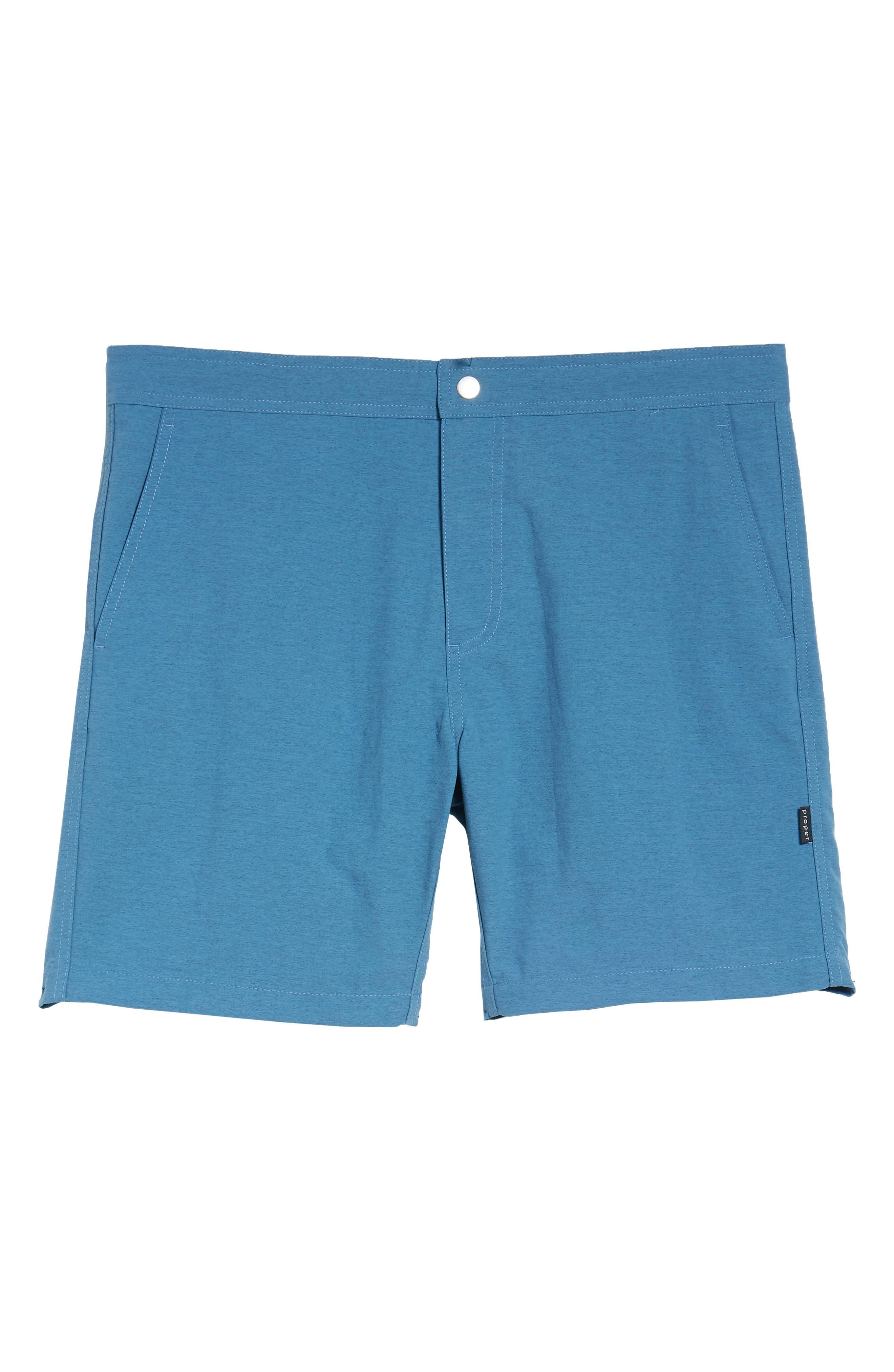 Bond Hybrid Shorts,                             Alternate thumbnail 6, color,                             TIDAL BLUE