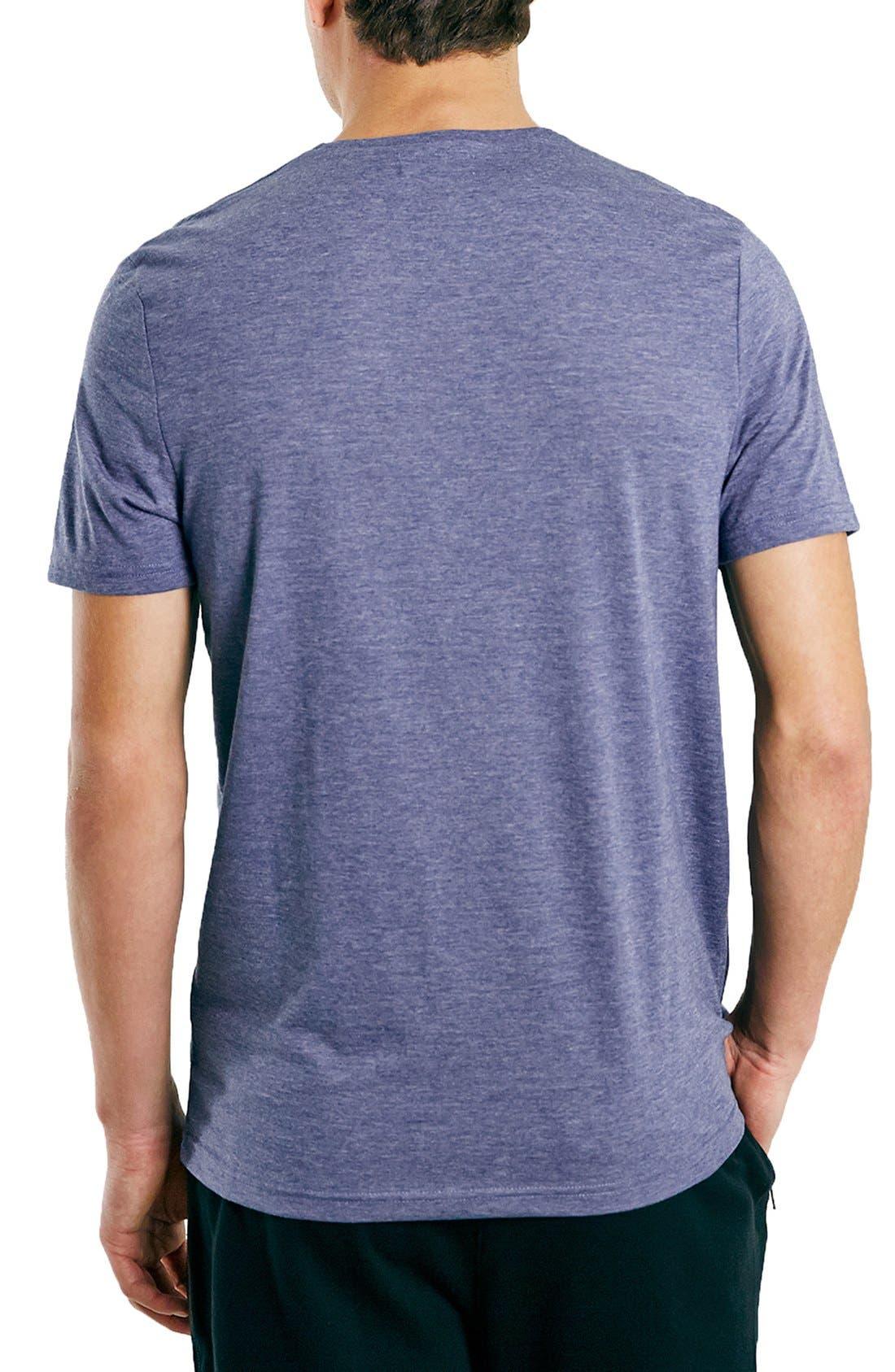 Slim Fit Crewneck T-Shirt,                             Alternate thumbnail 349, color,