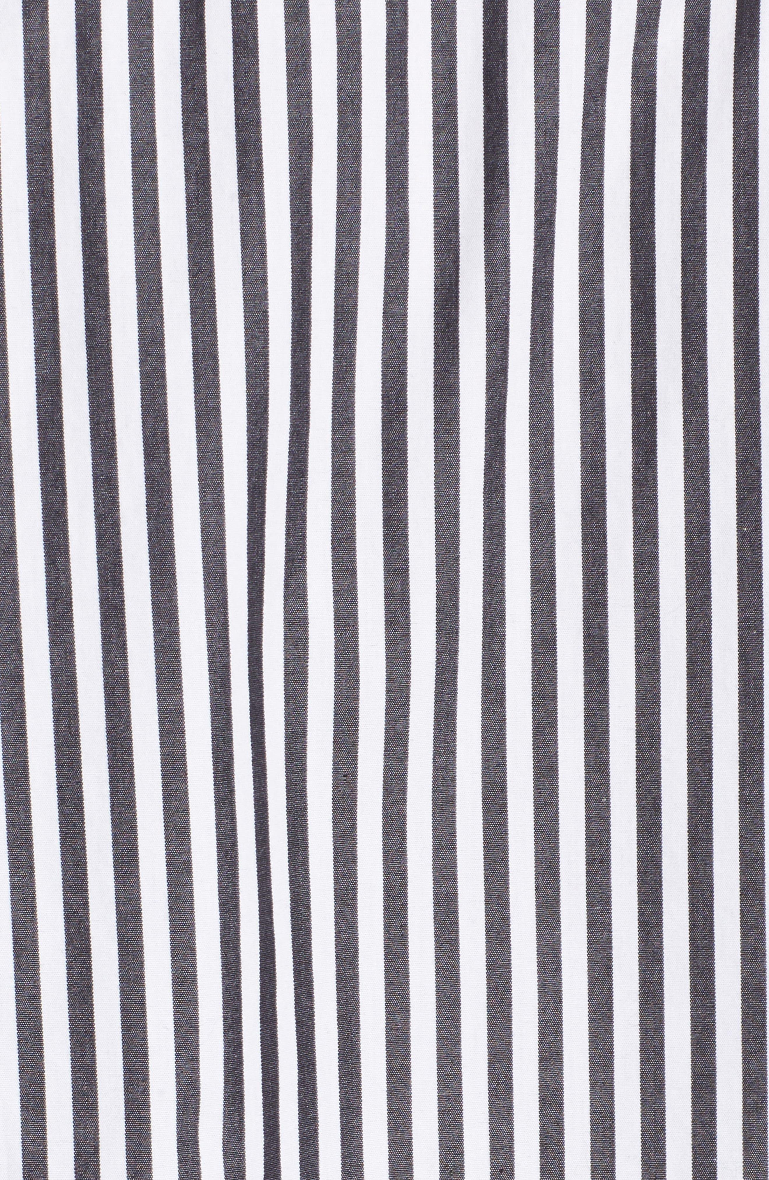 Stripe Oxford Shirt,                             Alternate thumbnail 5, color,                             001