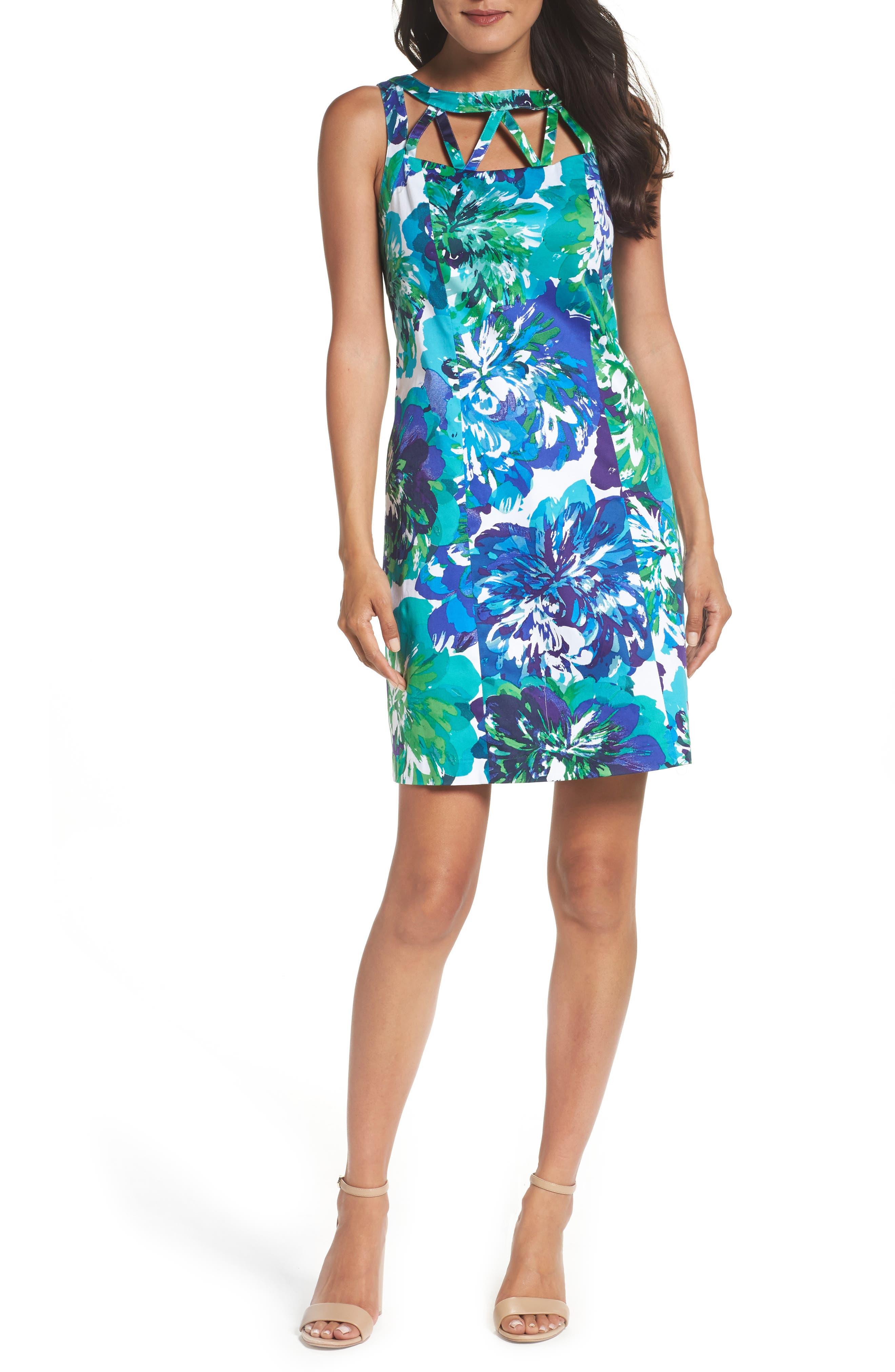 Sheath Dress,                         Main,                         color, 480