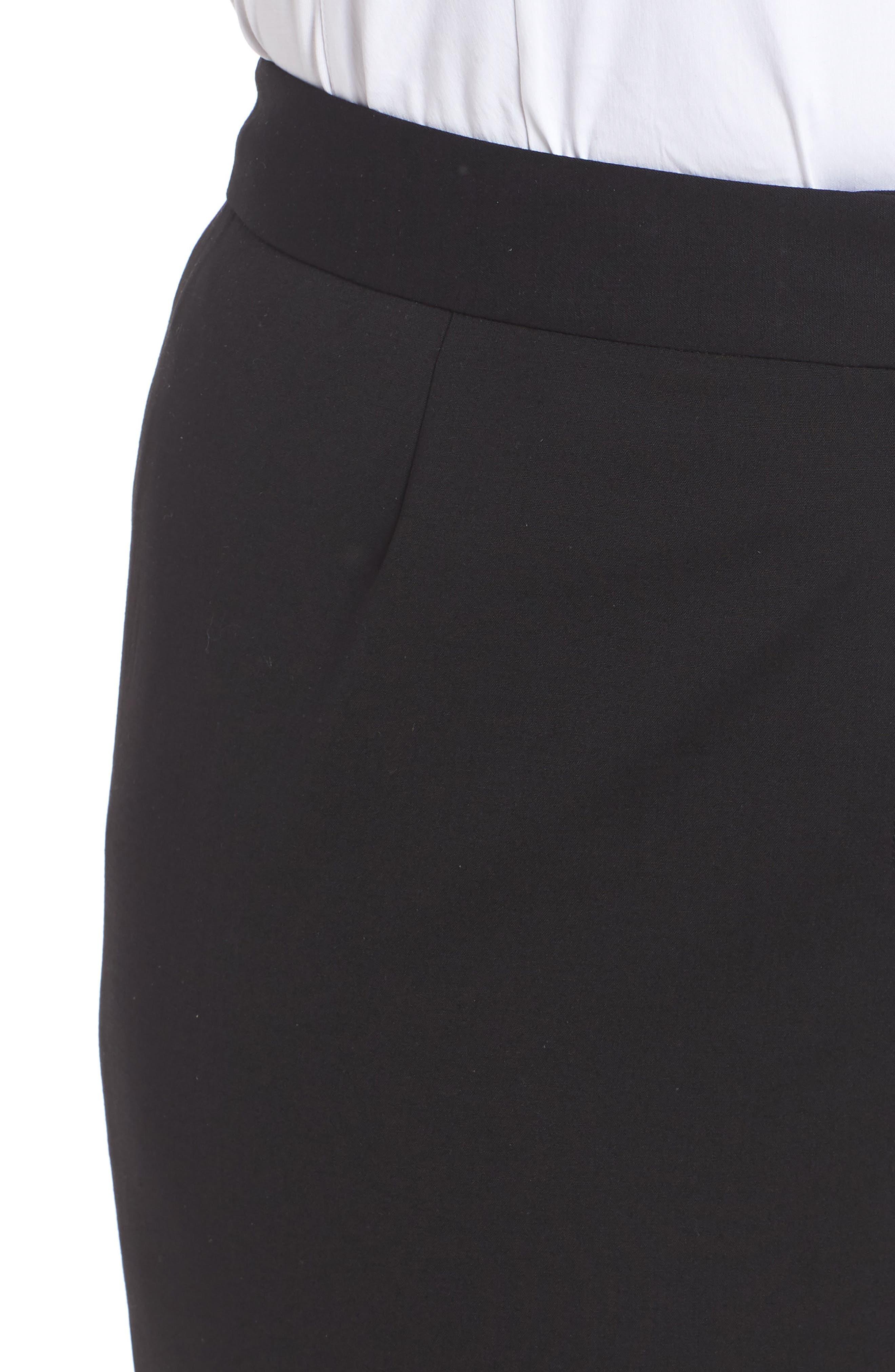 Menswear Trousers,                             Alternate thumbnail 6, color,                             BLACK